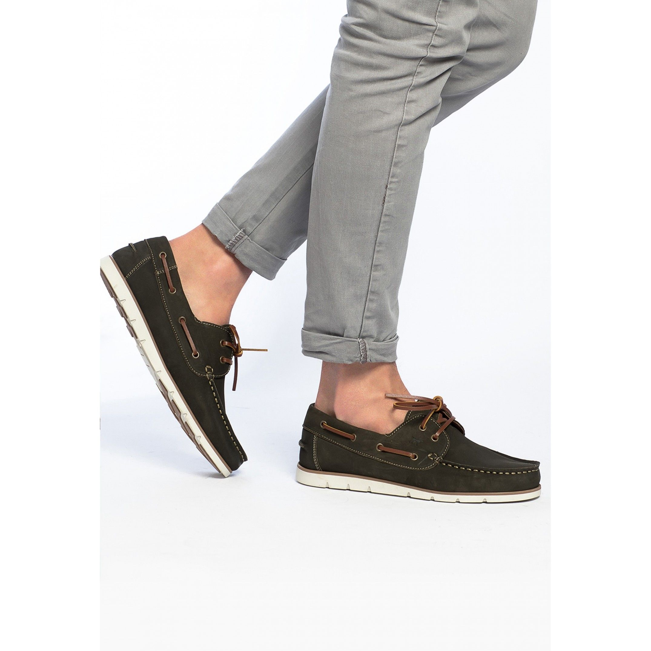 Leather Boat Shoes for Men