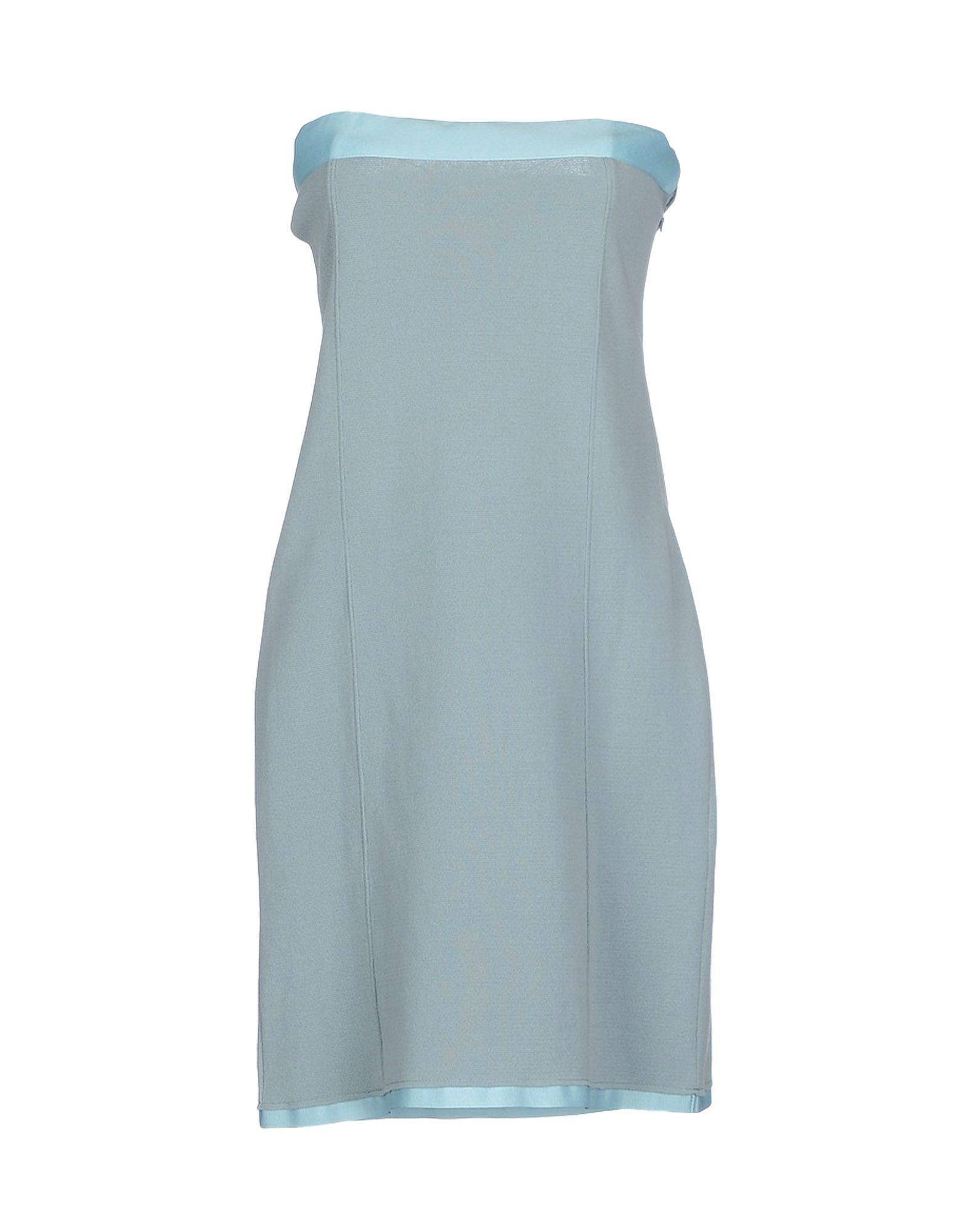 DRESSES Wetpaint Sky blue Woman Cotton