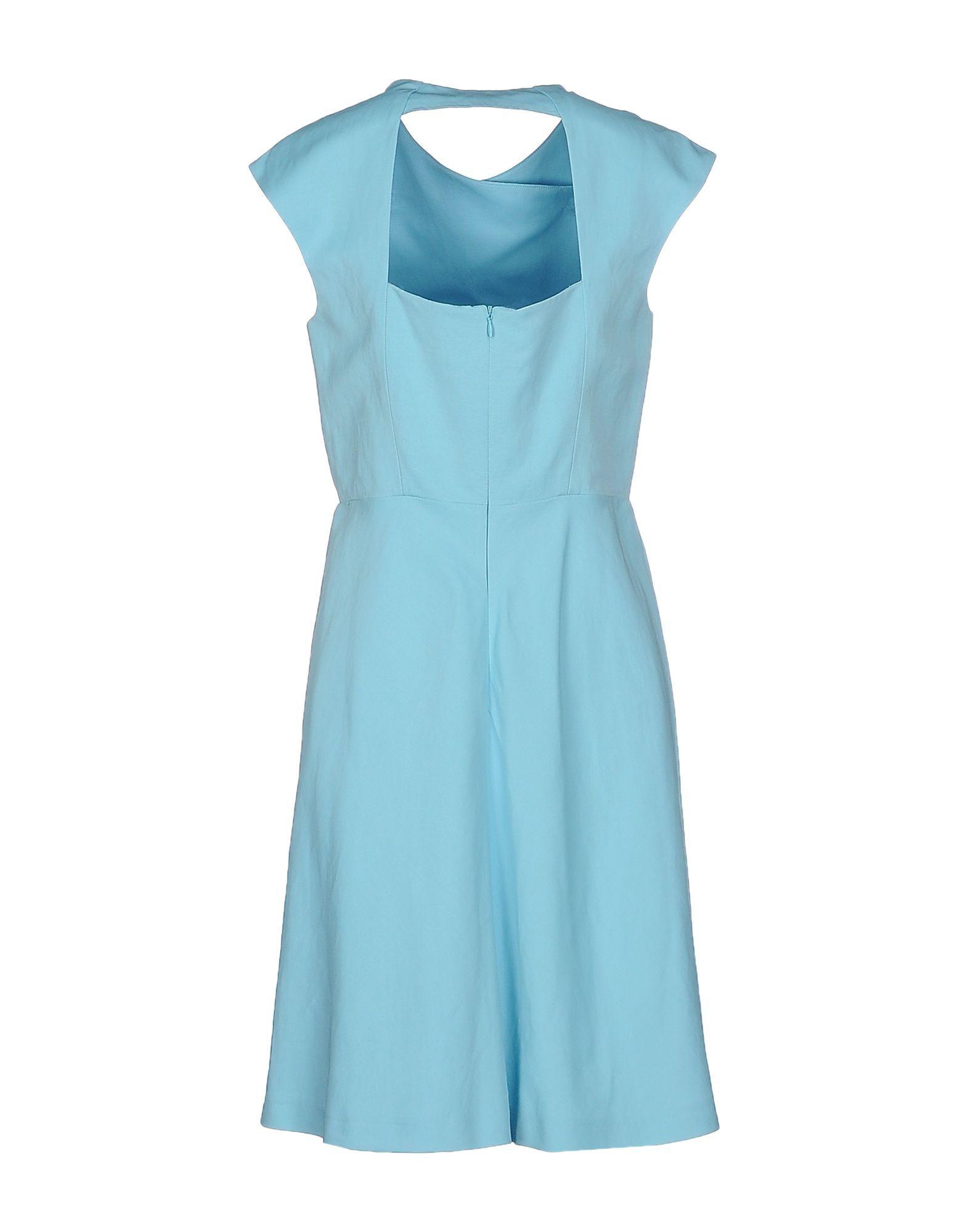 DRESSES Tara Jarmon Sky blue Woman Viscose