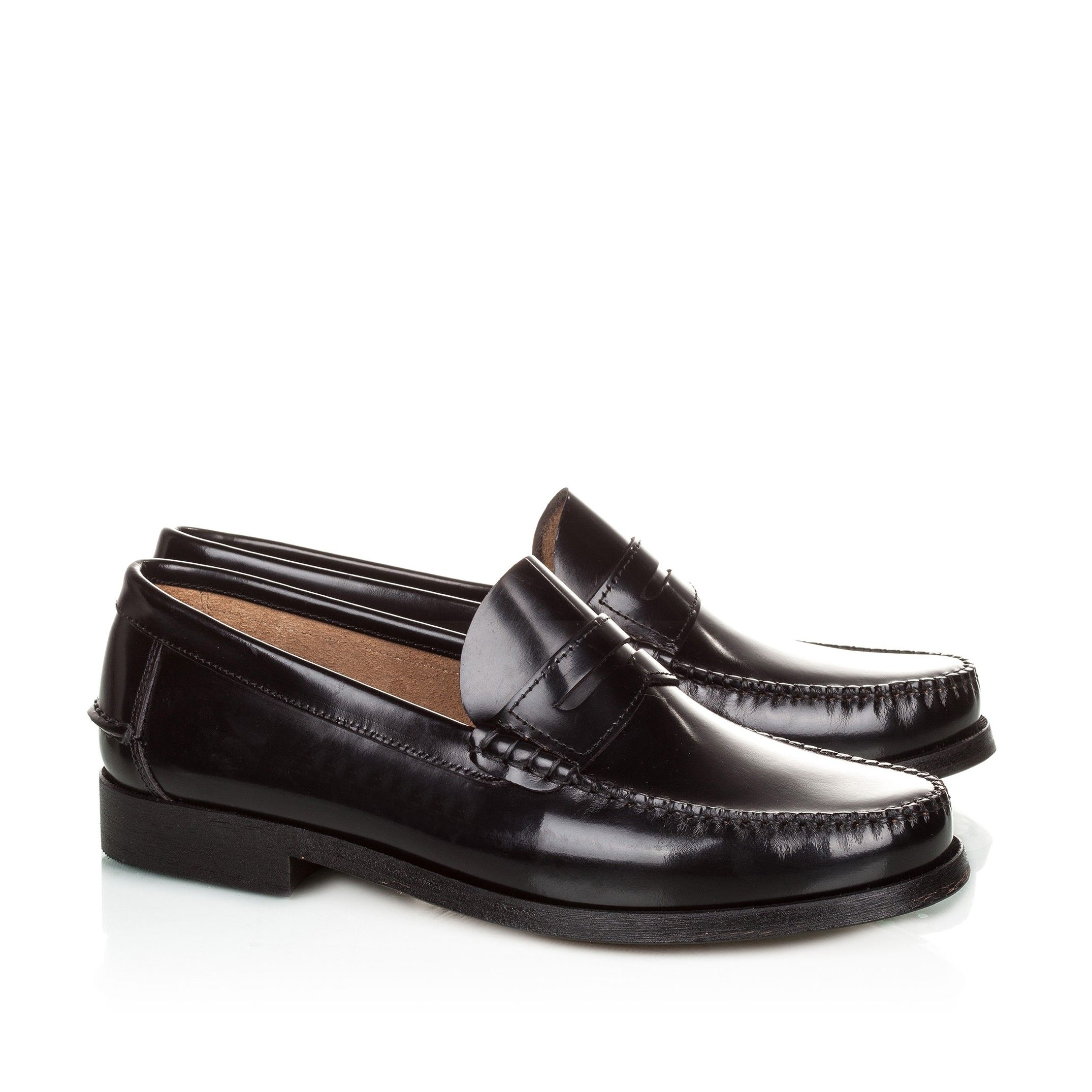 Leather Moccasins With Mask Elegant And Comfortable Classic Shoes