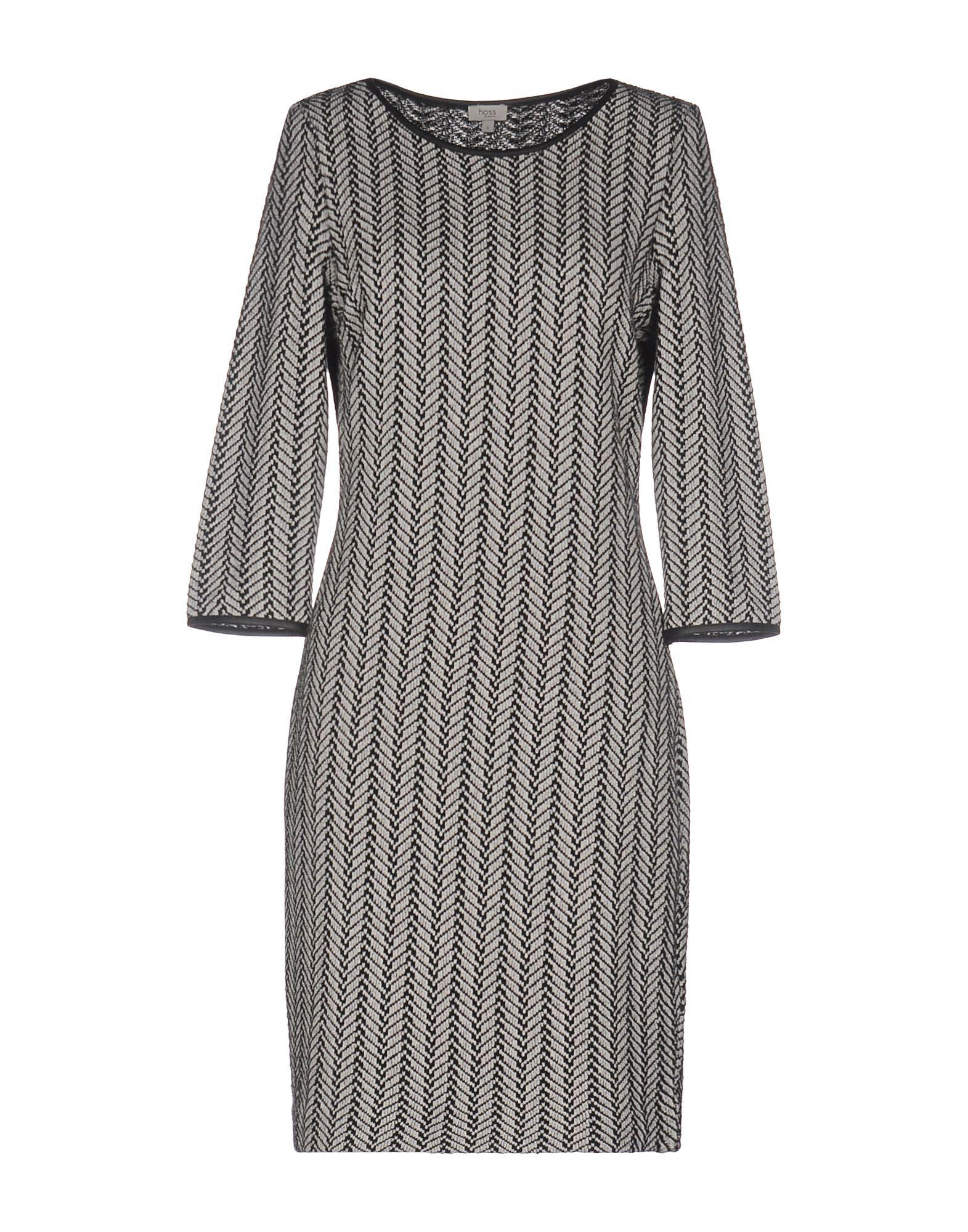 Dress Intropia Black Women's Cotton