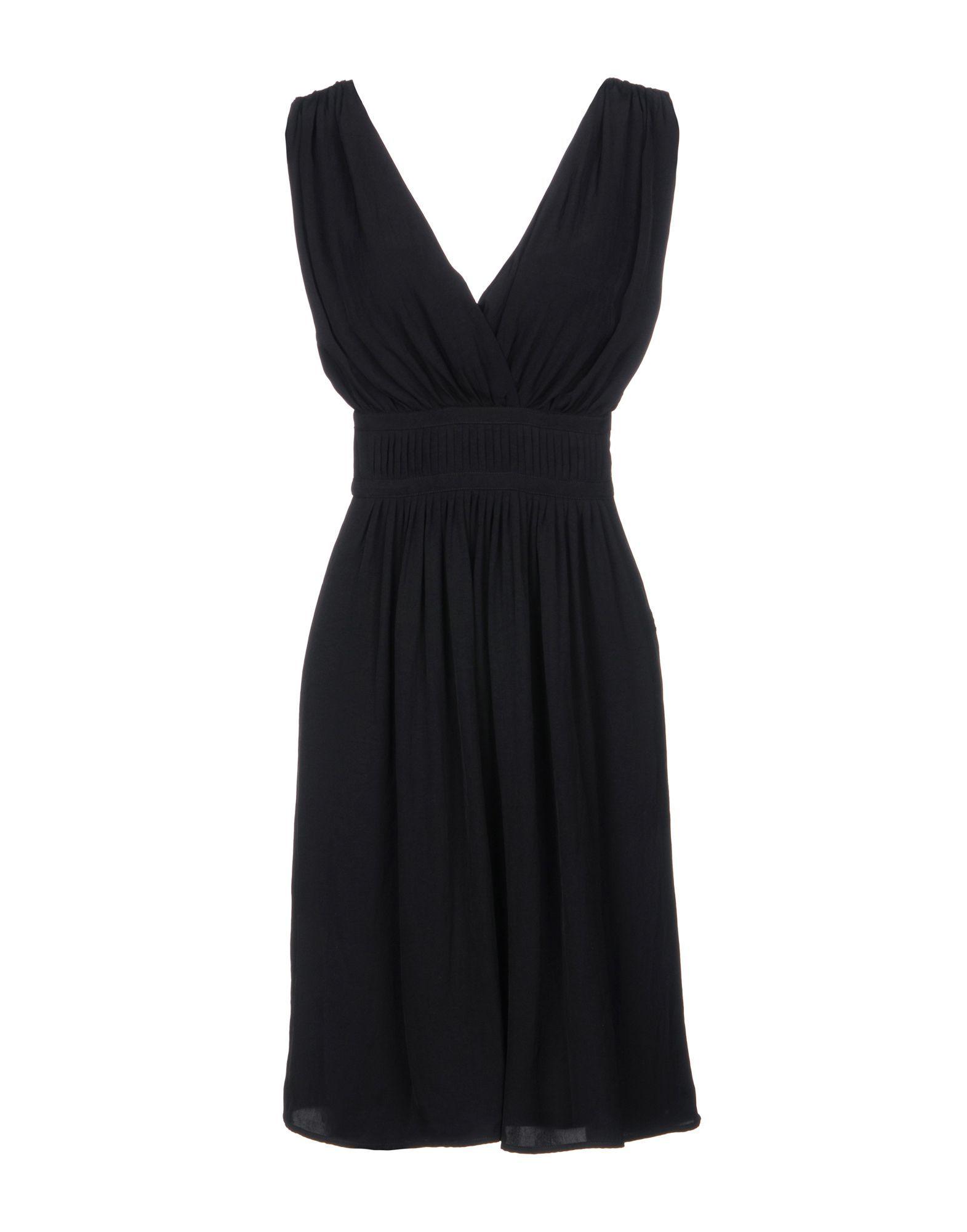Isabel Marant Etoile Black V Neckline Dress