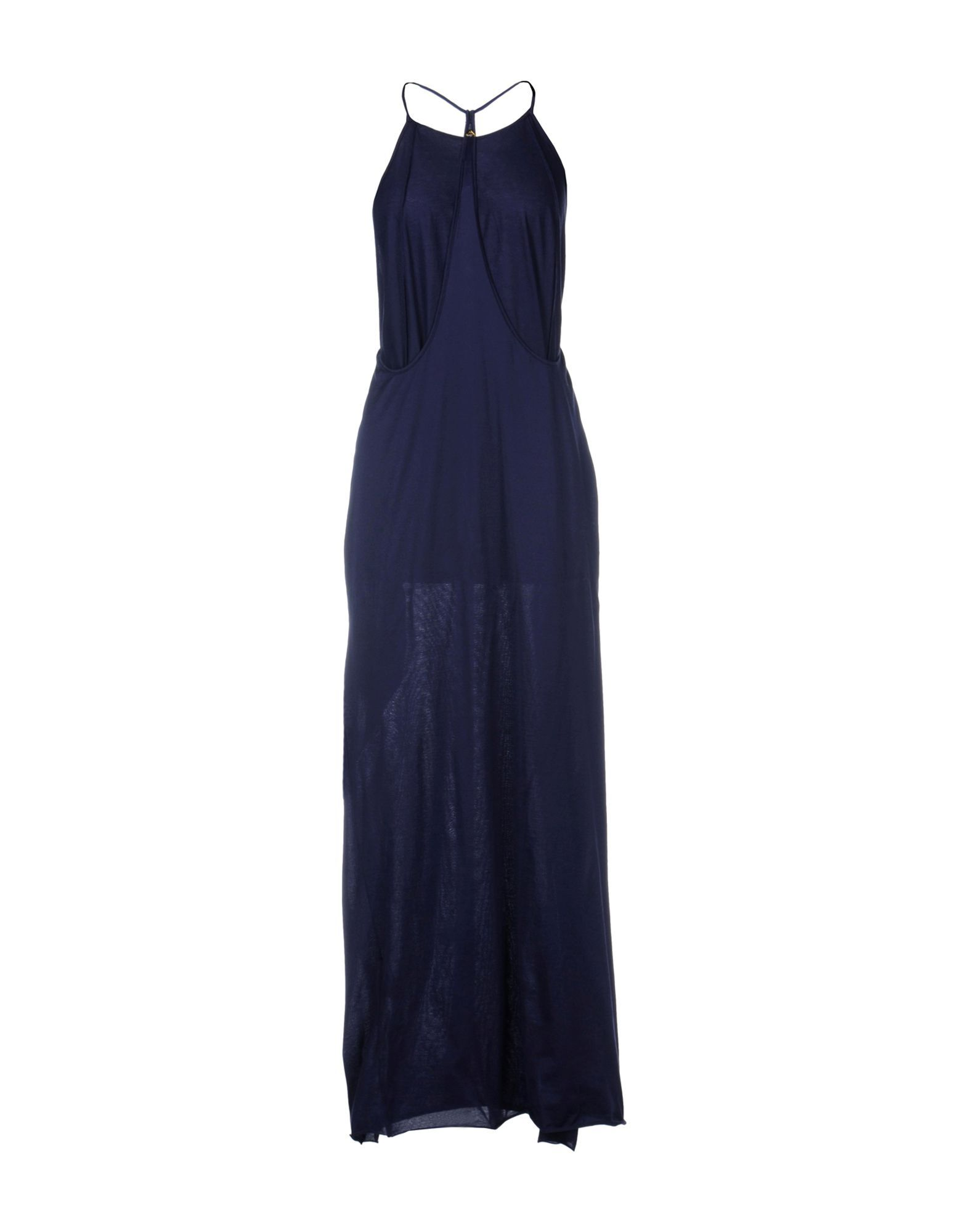 DRESSES Woman Cycle Dark blue Cotton