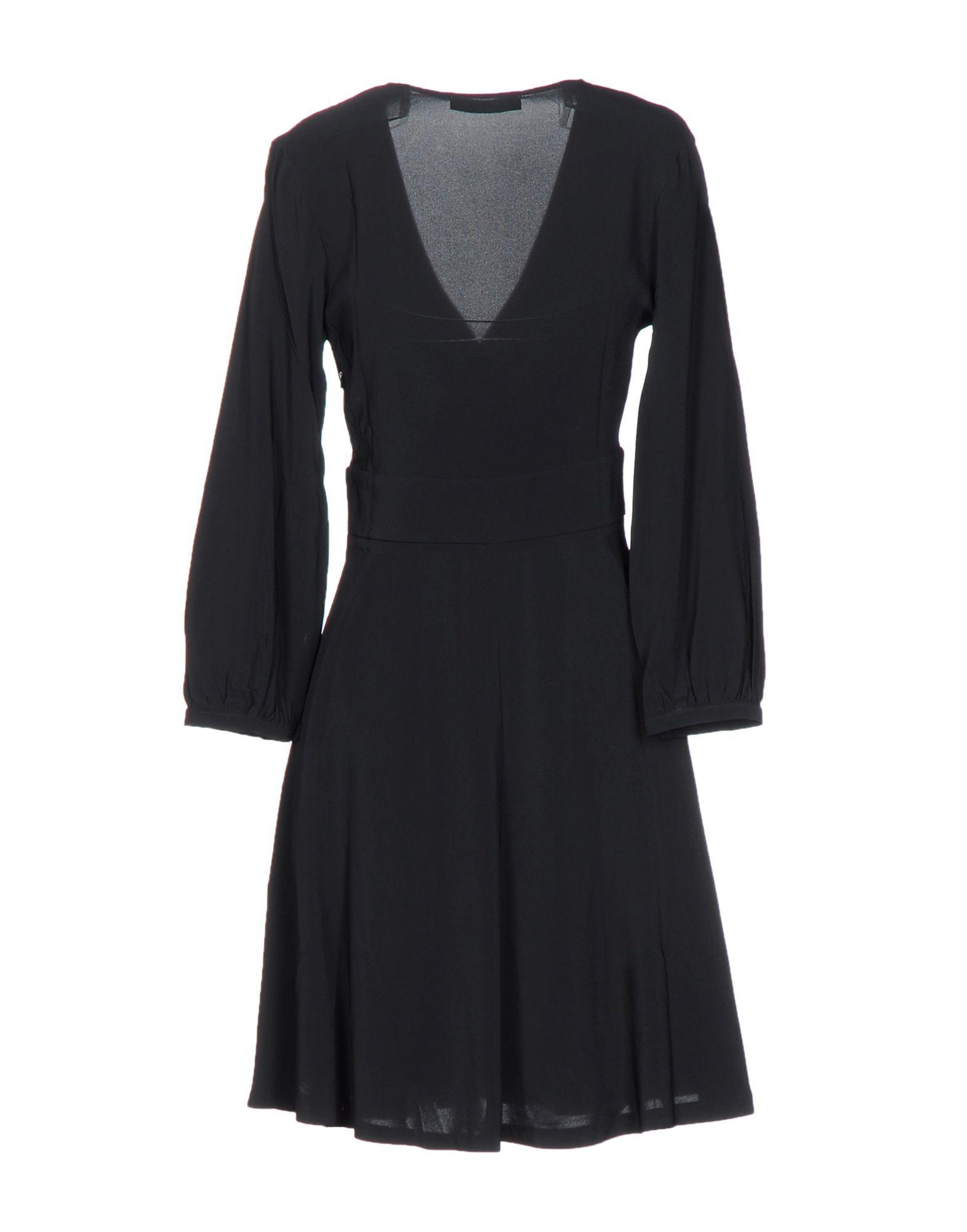Dress .Tessa Black Women's Viscose