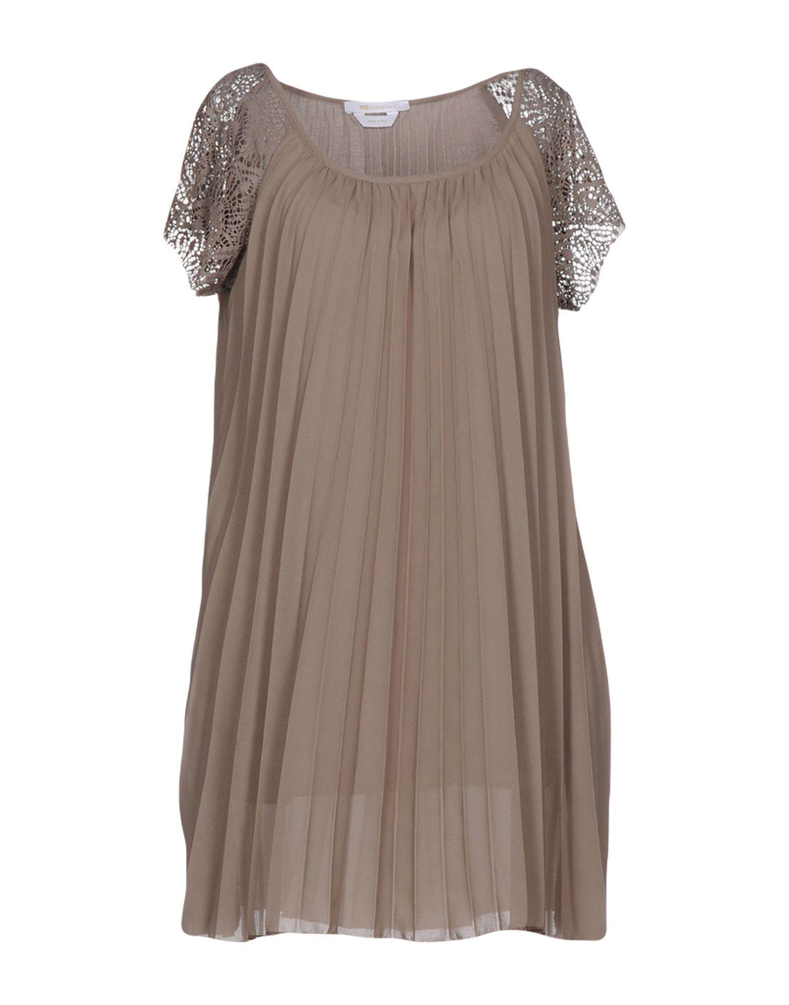 DRESSES Roberta Biagi Khaki Woman Polyester