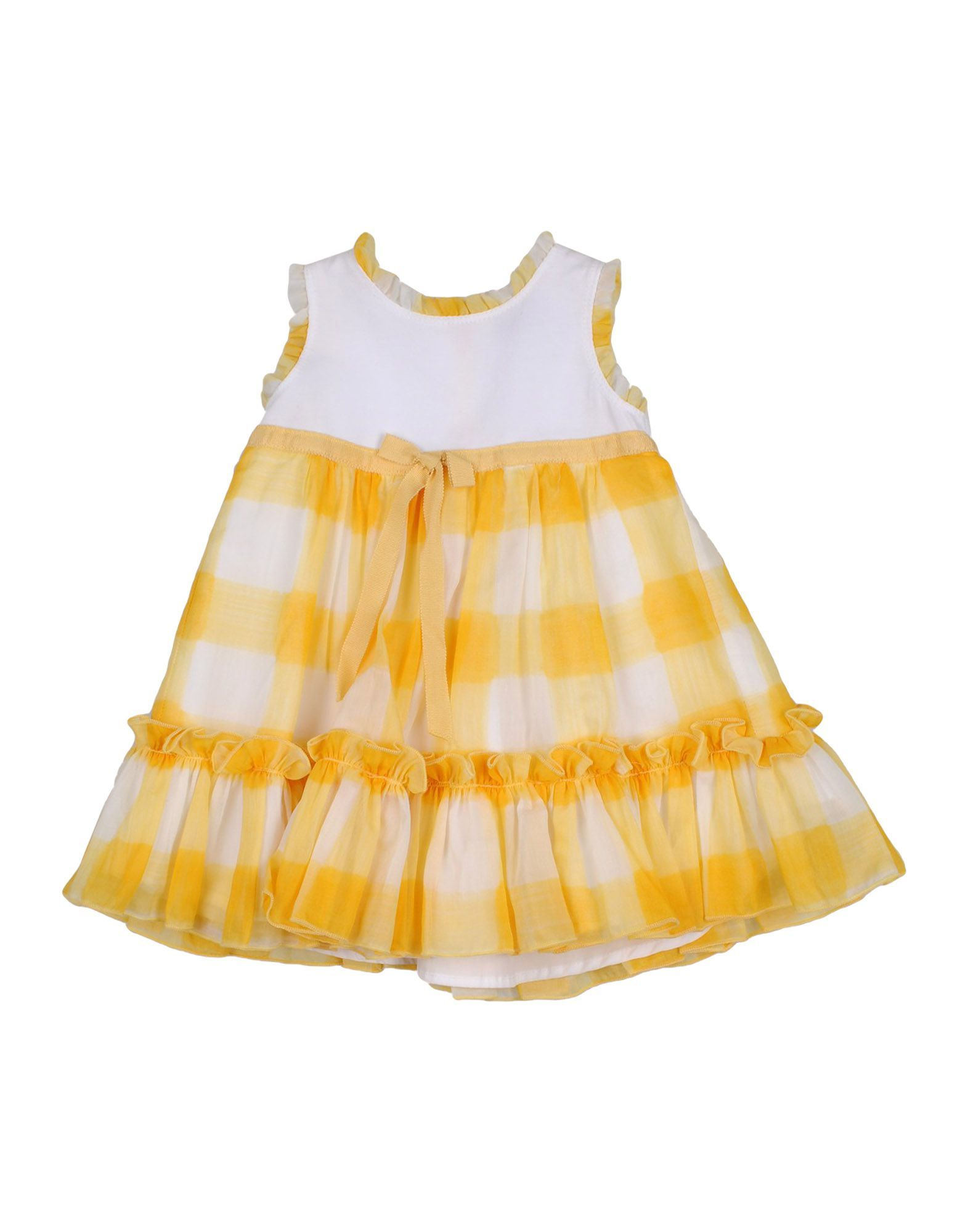 BODYSUITS & SETS Monnalisa Bebe' Yellow Girl Cotton