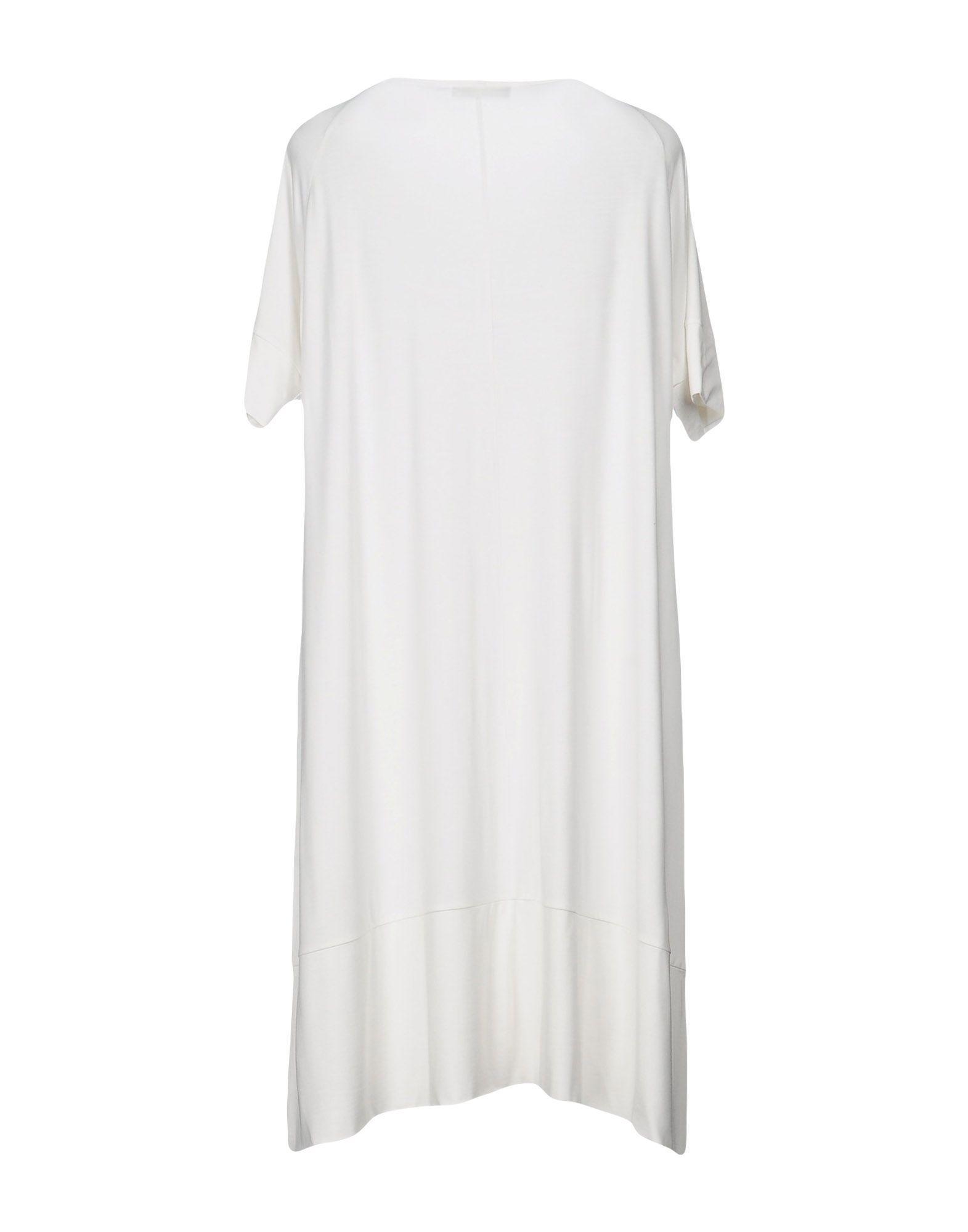 Dress Le Tricot Perugia White Women's Viscose