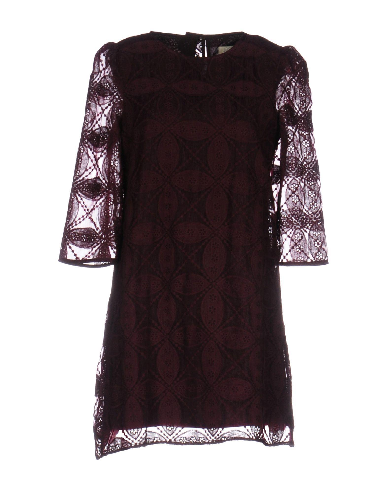 Dress Lou Lou London Deep Purple Women's Polyester