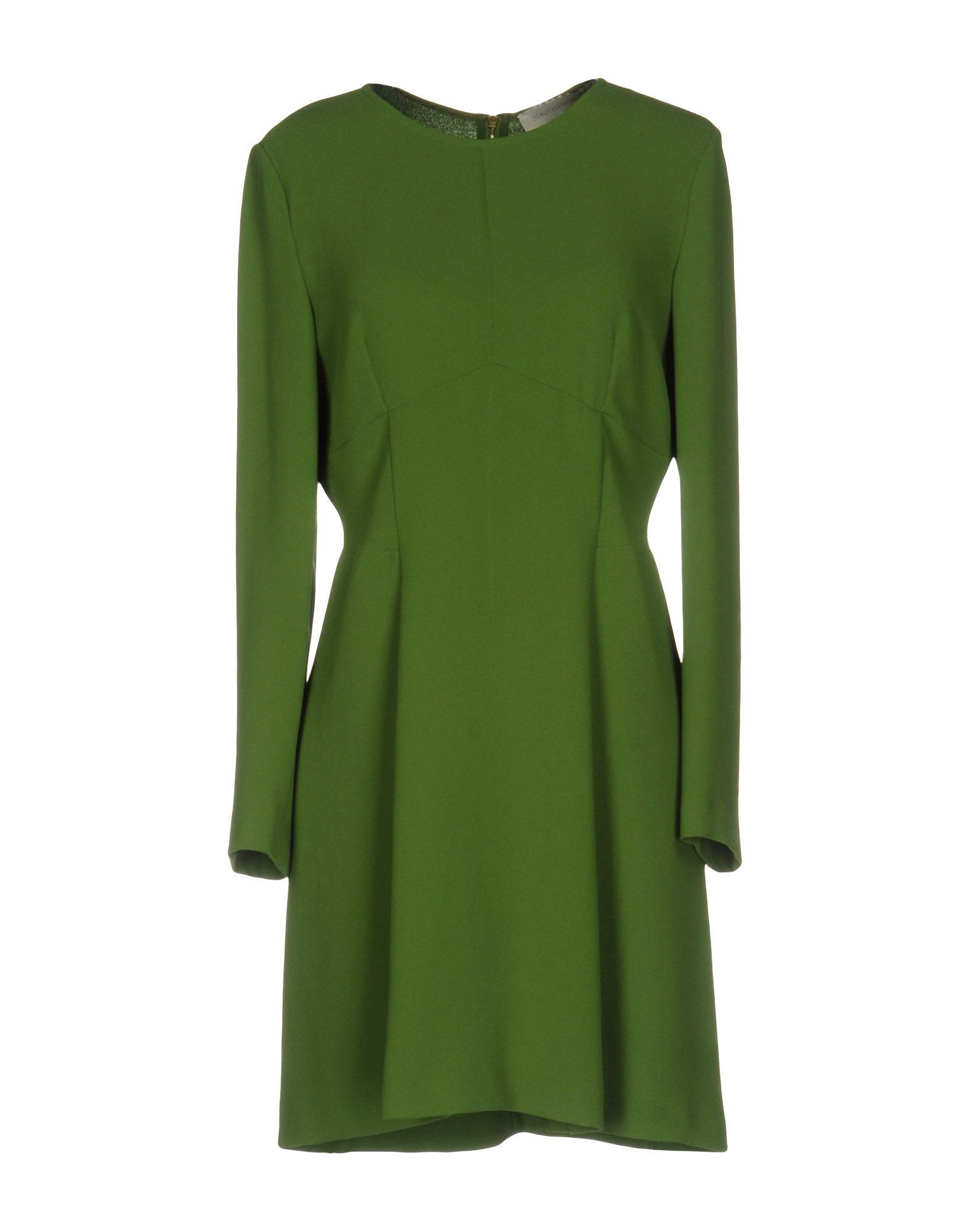 L' Autre Chose Green Long Sleeve Dress
