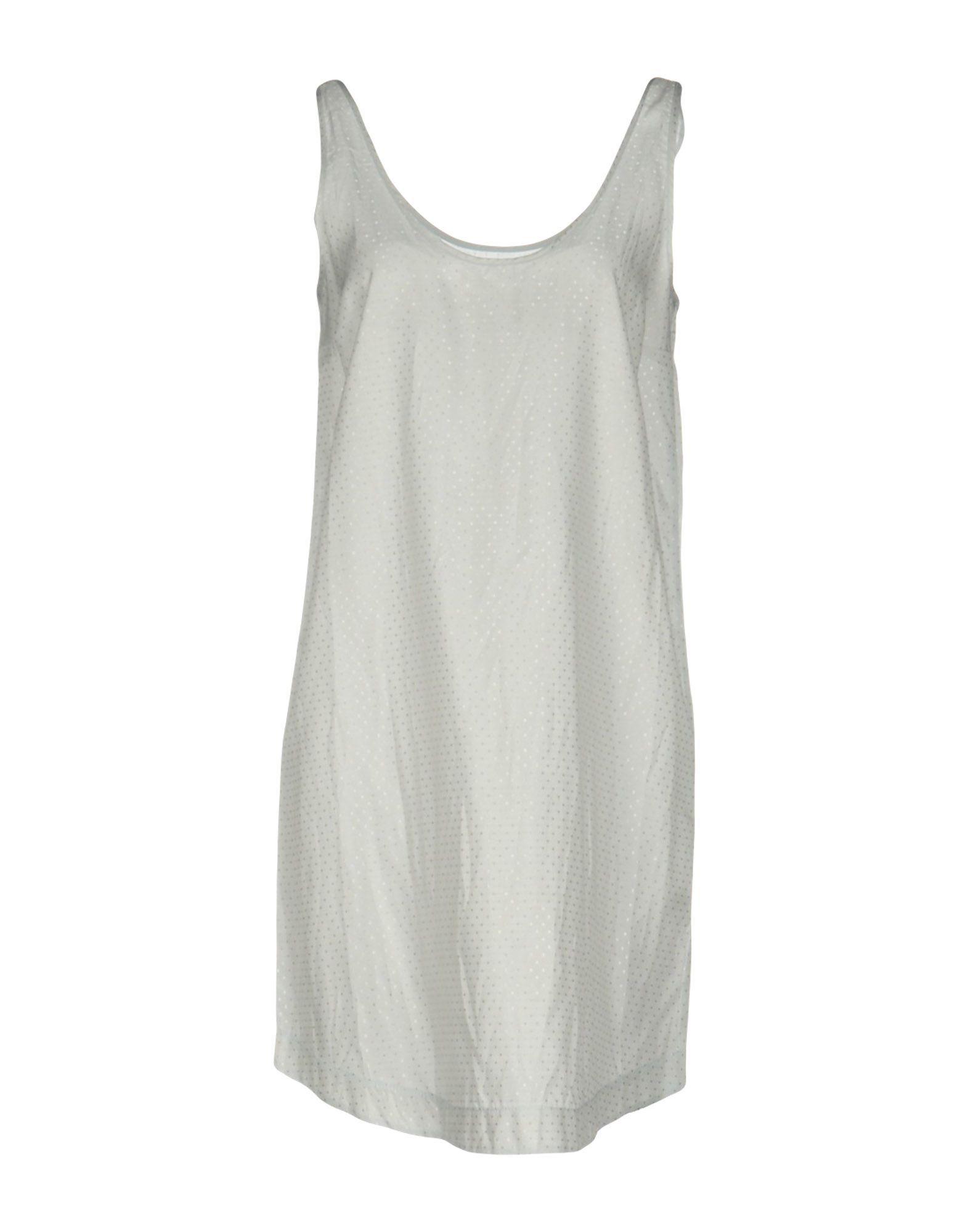Merci Light Grey Sleeveless Dress