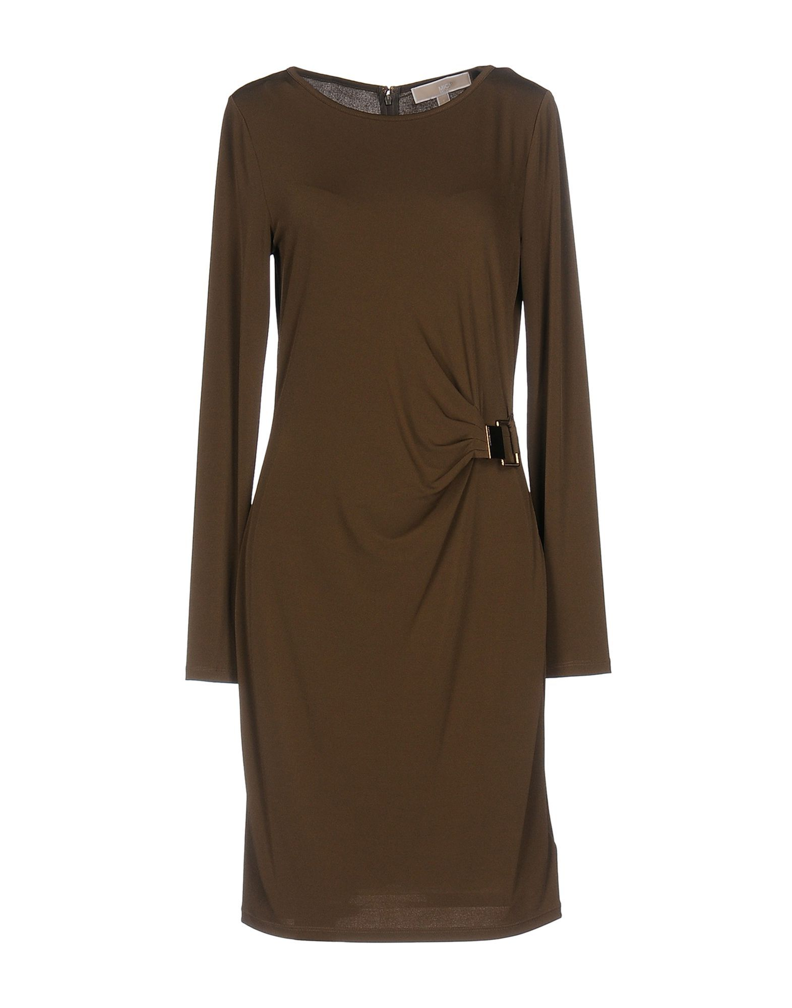 Dress Michael Michael Kors Khaki Women's Polyester