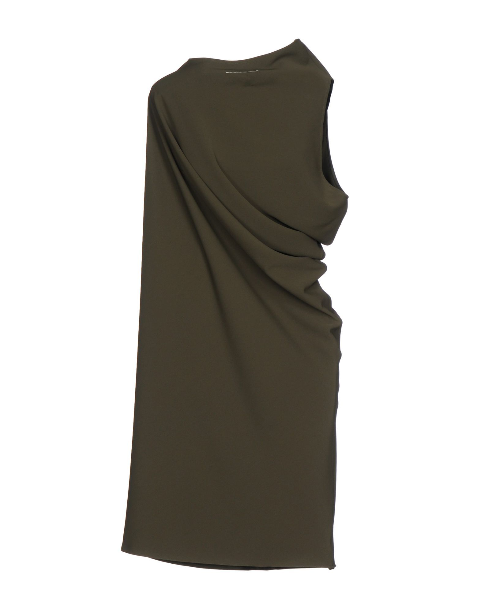 DRESSES Mm6 Maison Margiela Military green Woman Polyester