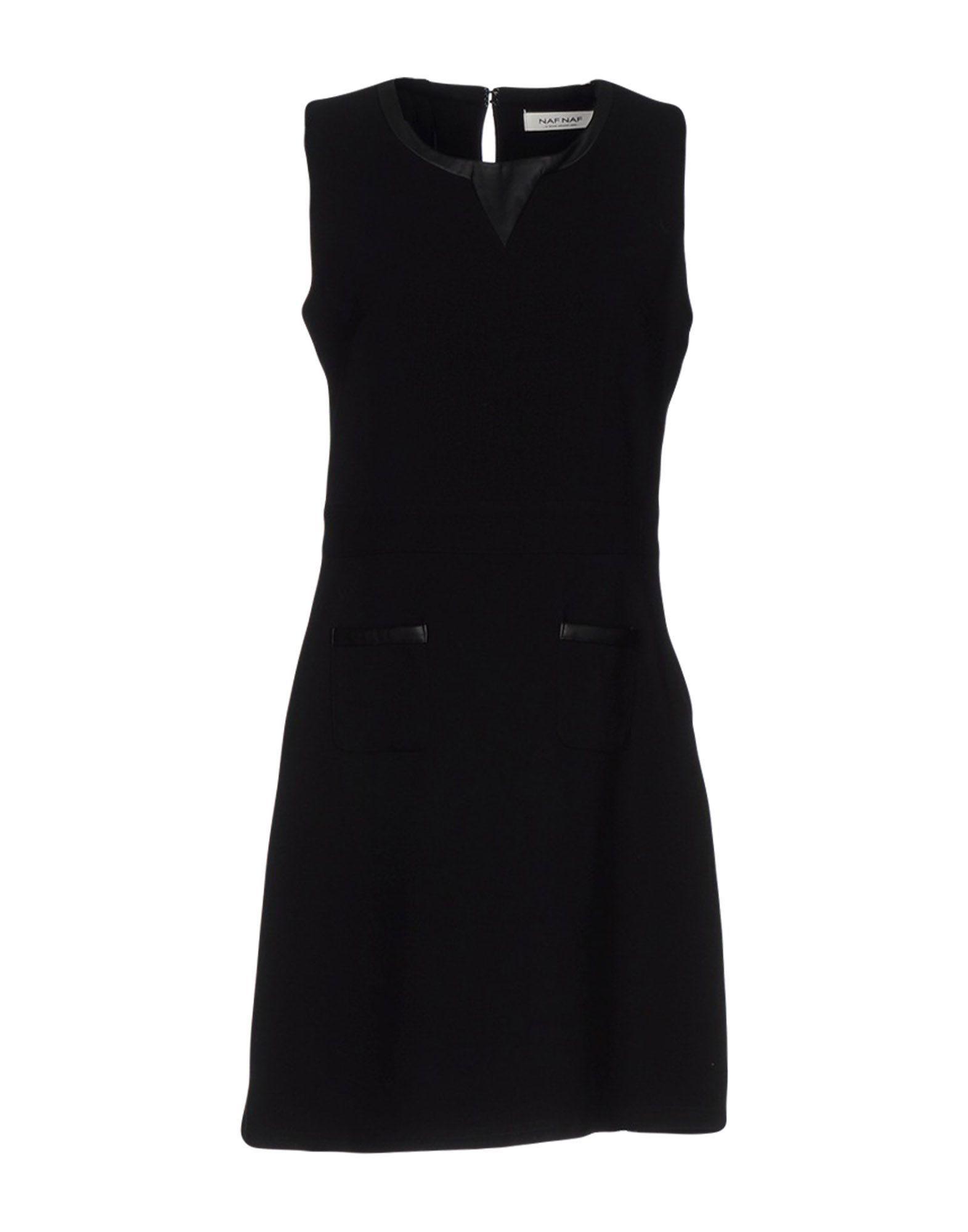 Dress Naf Naf Black Women's Polyester