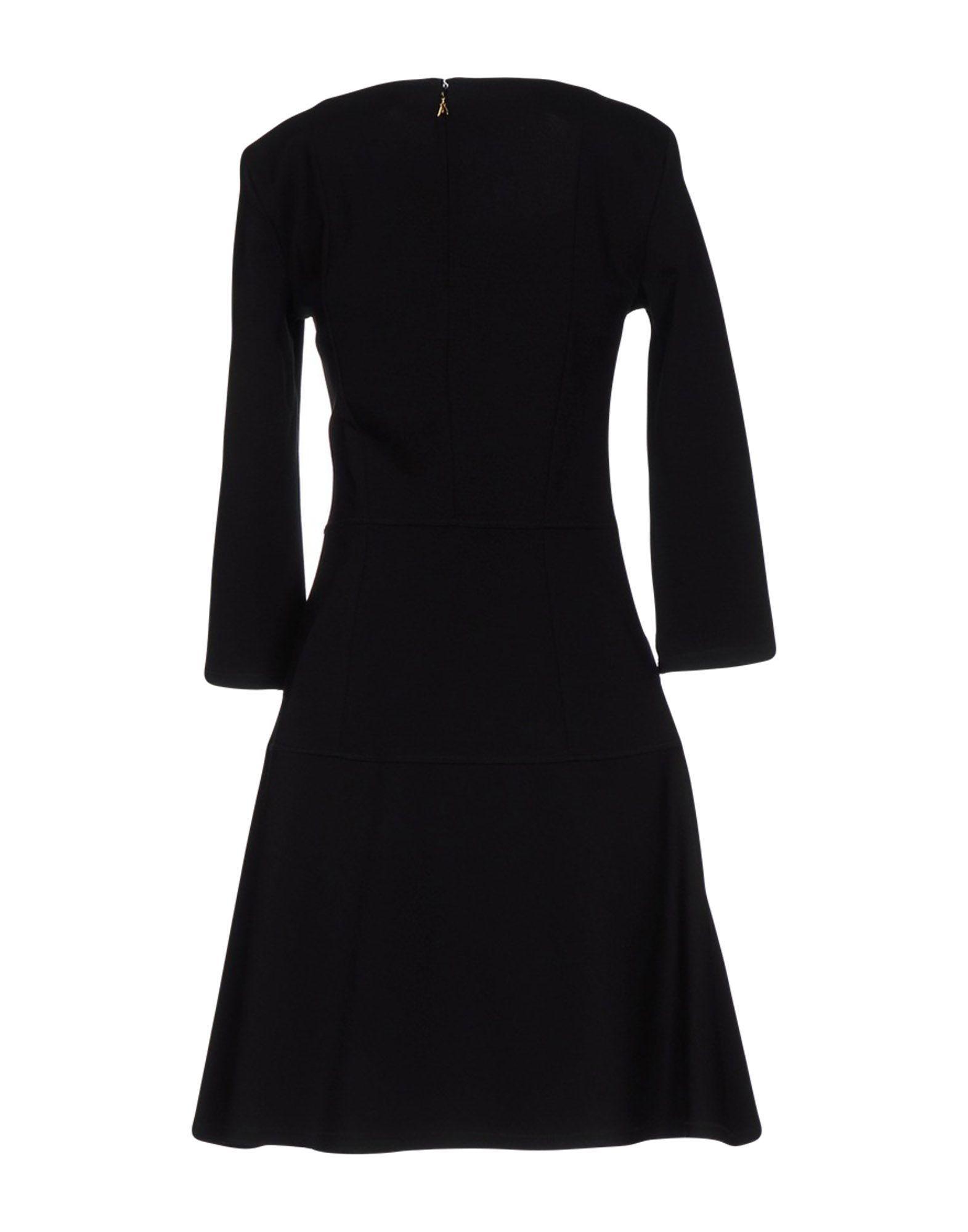 Patrizia Pepe Black Long Sleeve Dress