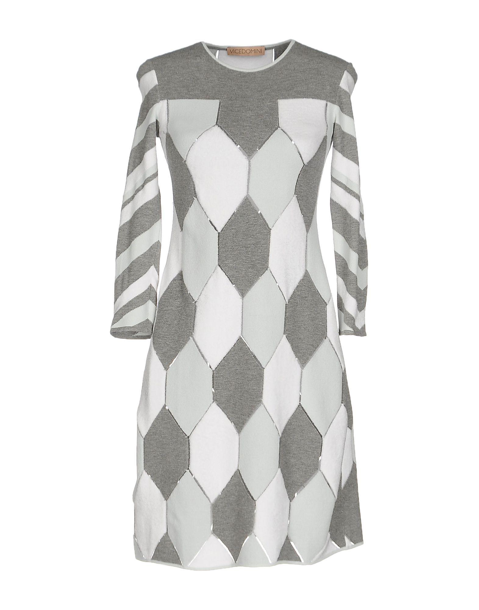 DRESSES Vicedomini Light grey Woman Viscose