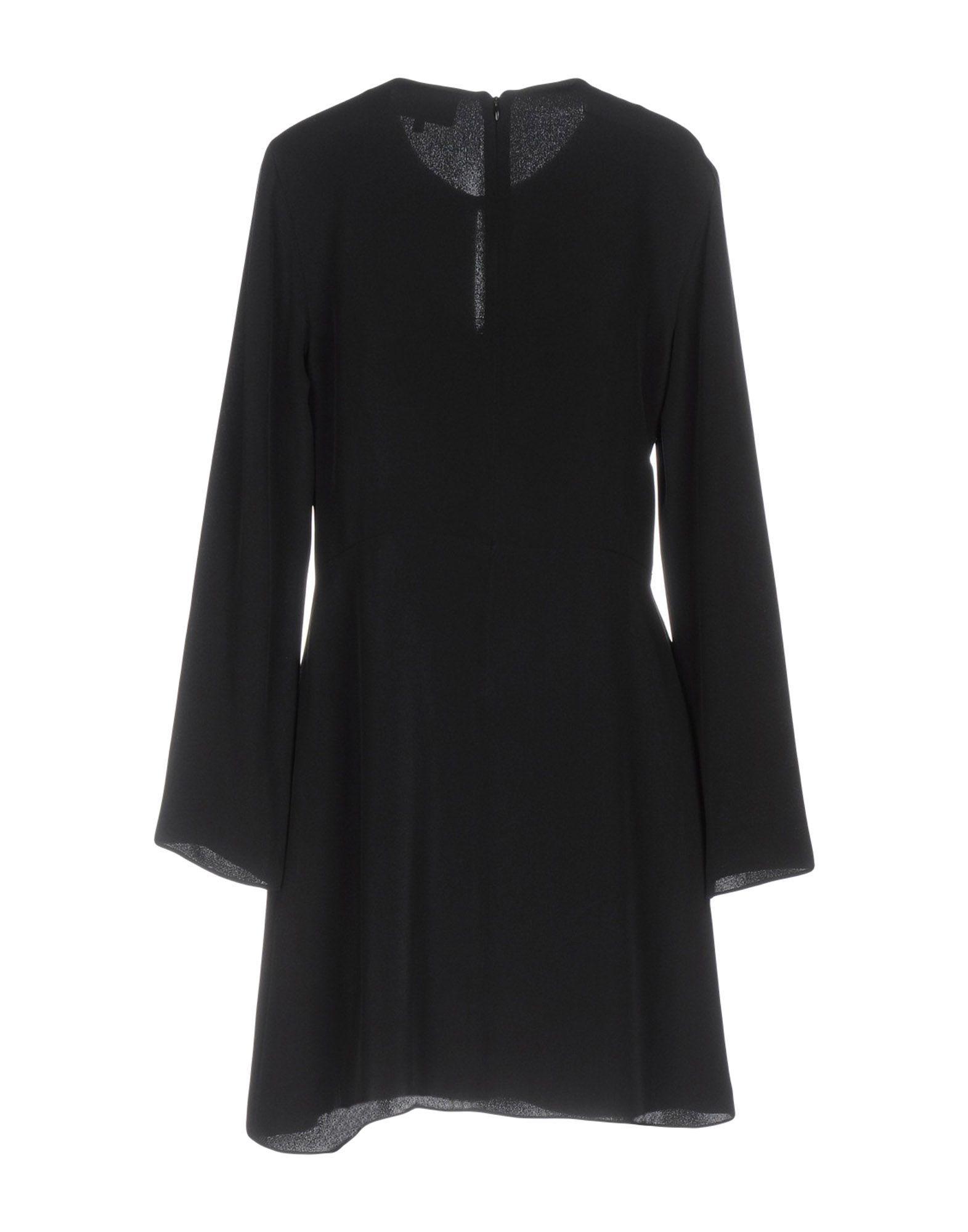 3.1 Phillip Lim Black Silk Long Sleeve Dress