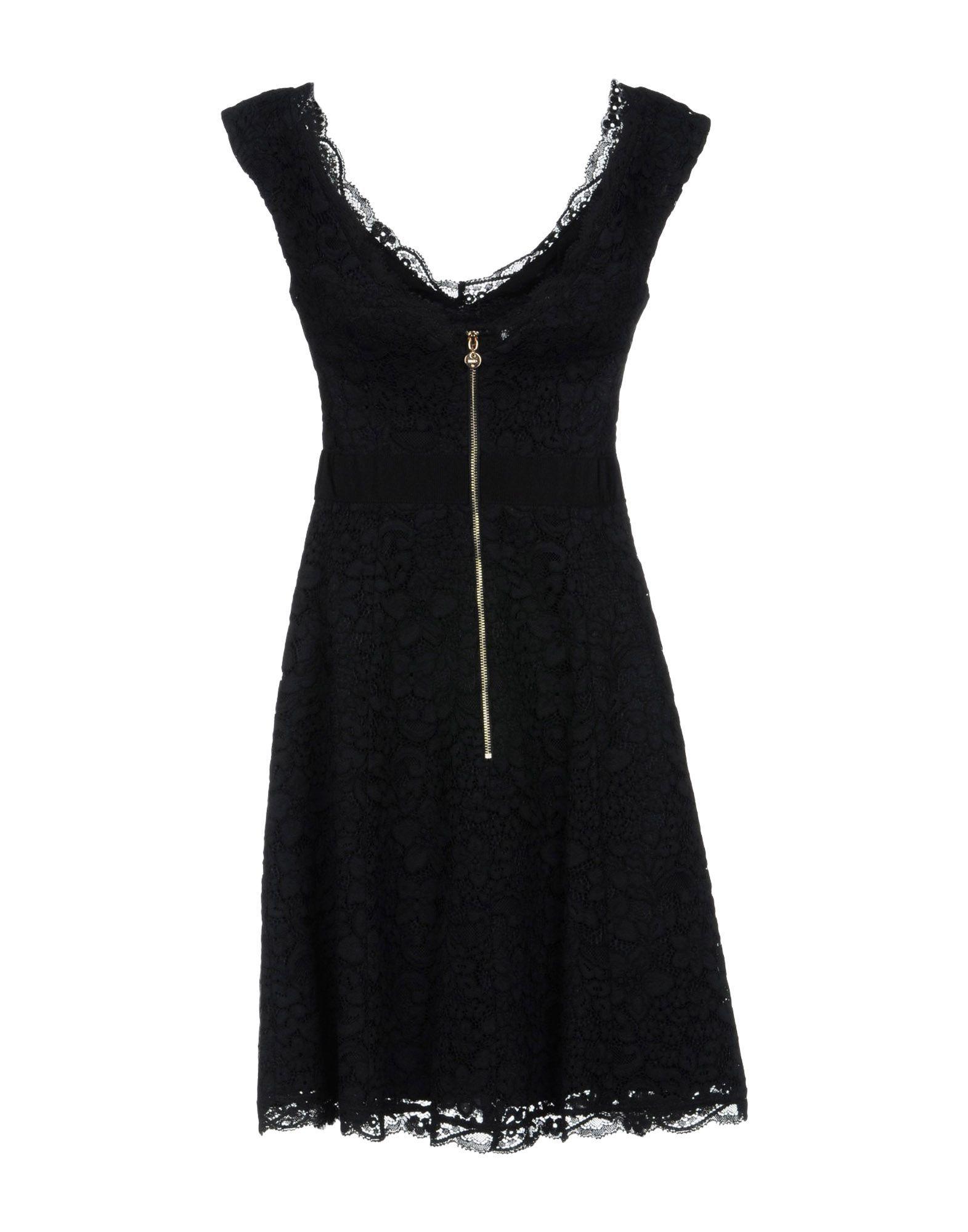Liu Jo Black Cotton Dress