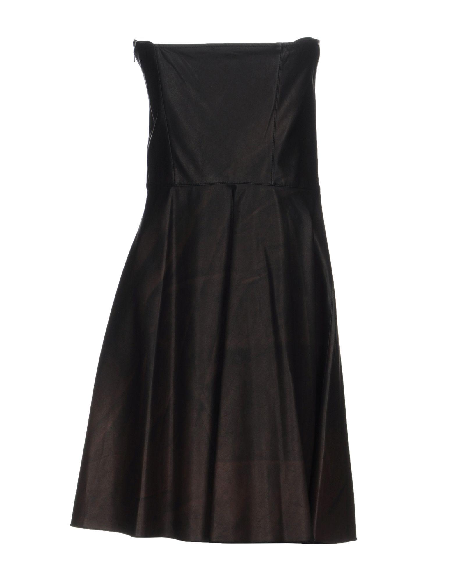 DRESSES Jijil Dark brown Woman Polyester
