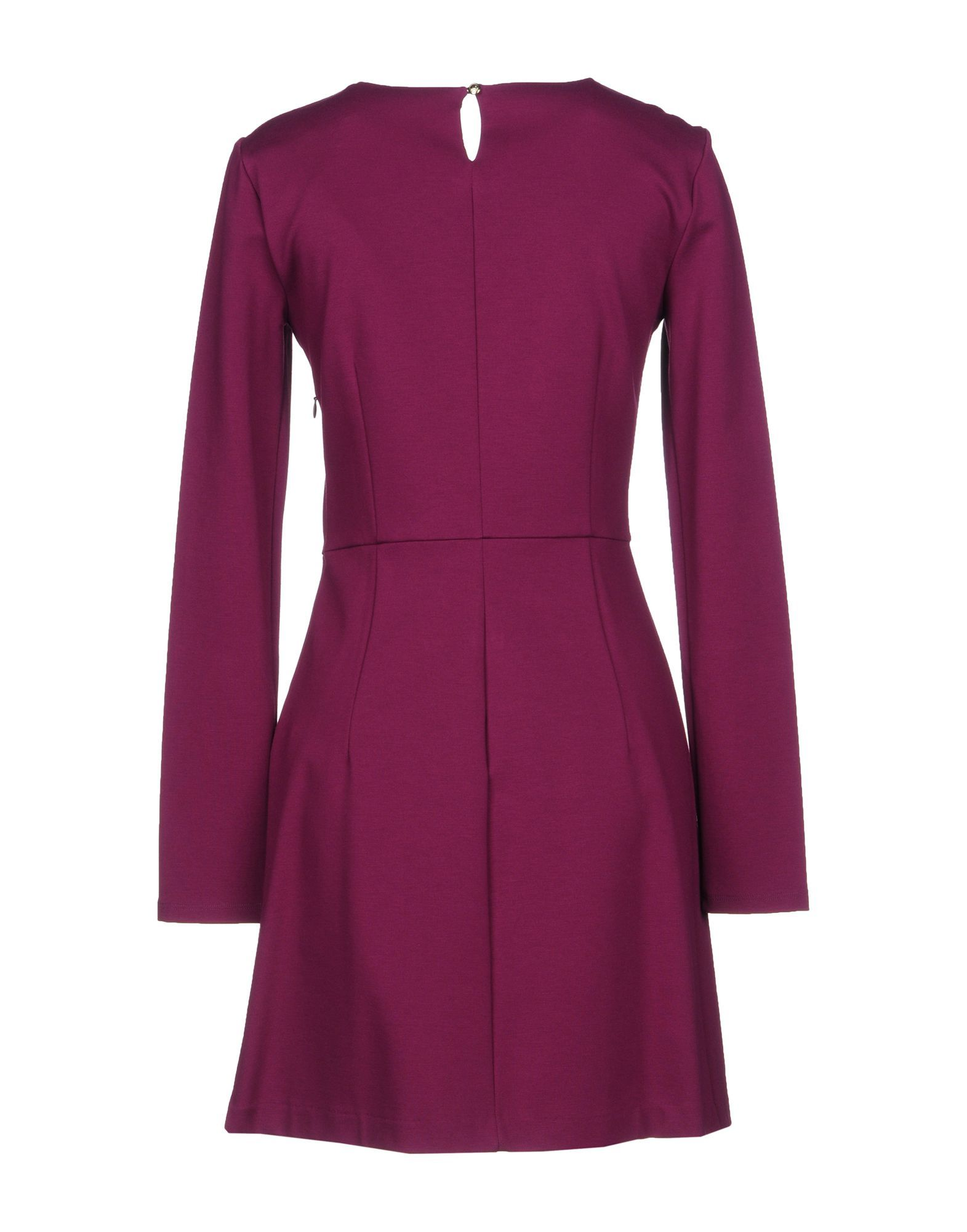 Patrizia Pepe Garnet Long Sleeve Dress