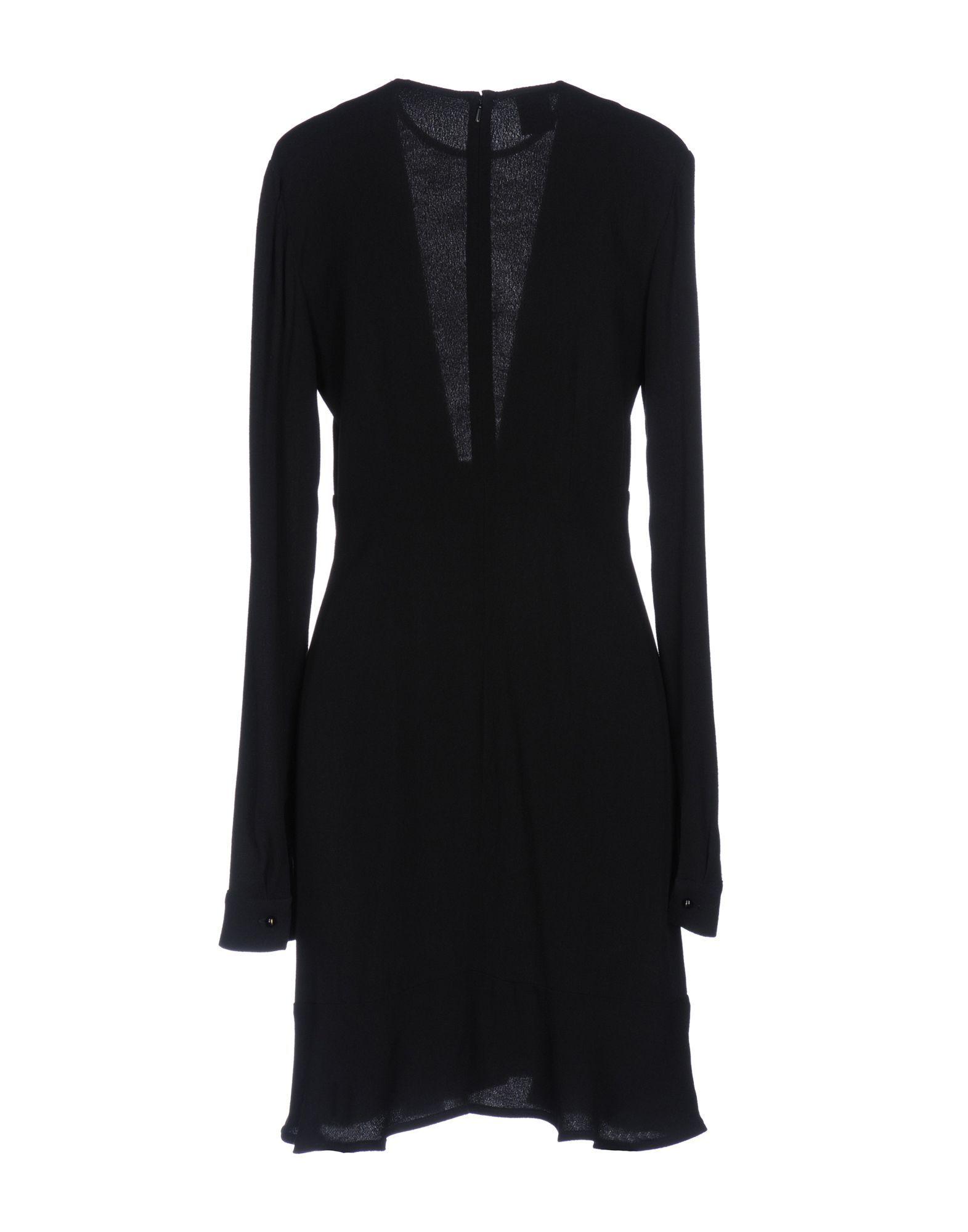 Pinko Black Long Sleeve Dress
