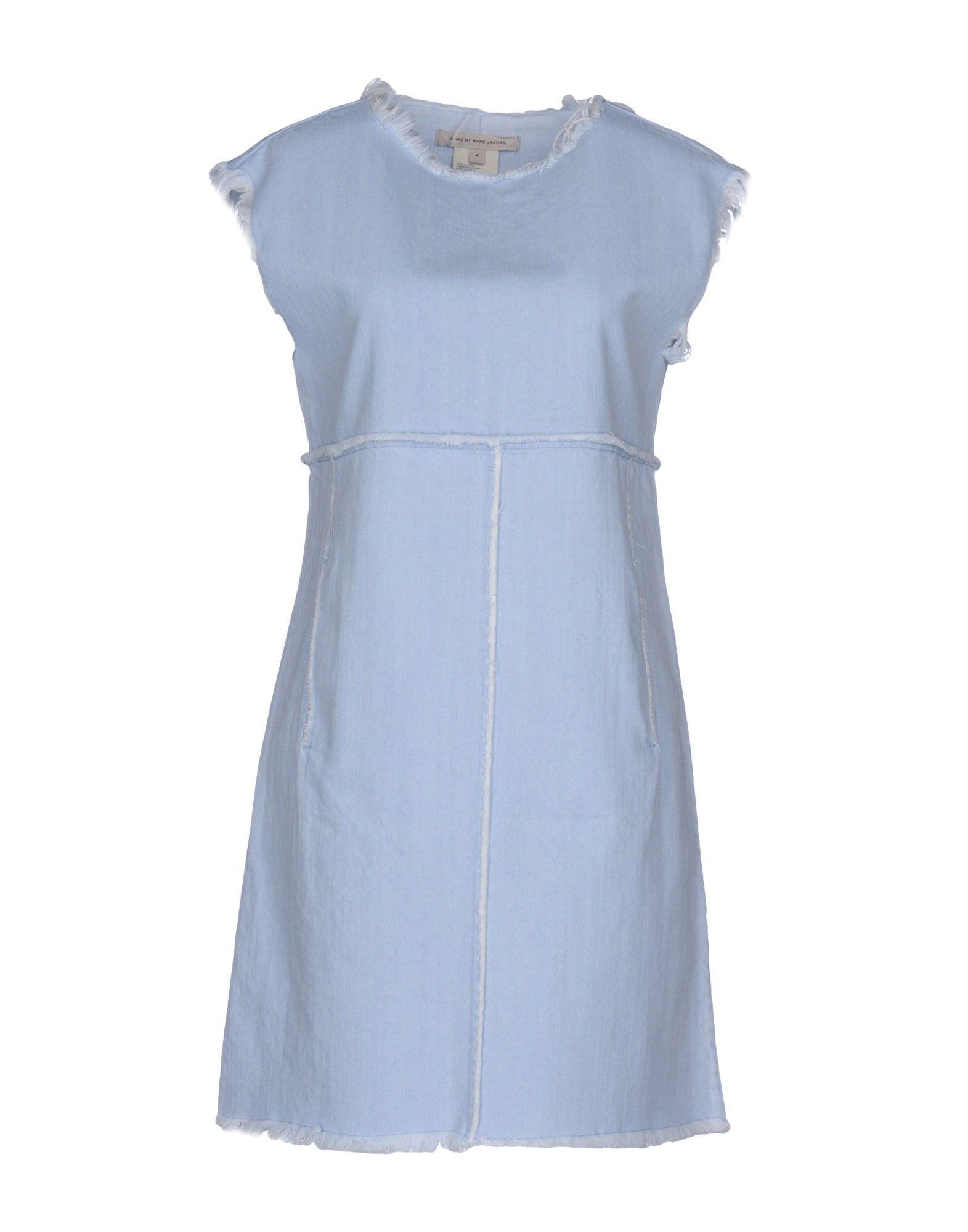 Marc By Marc Jacobs Blue Denim Dress
