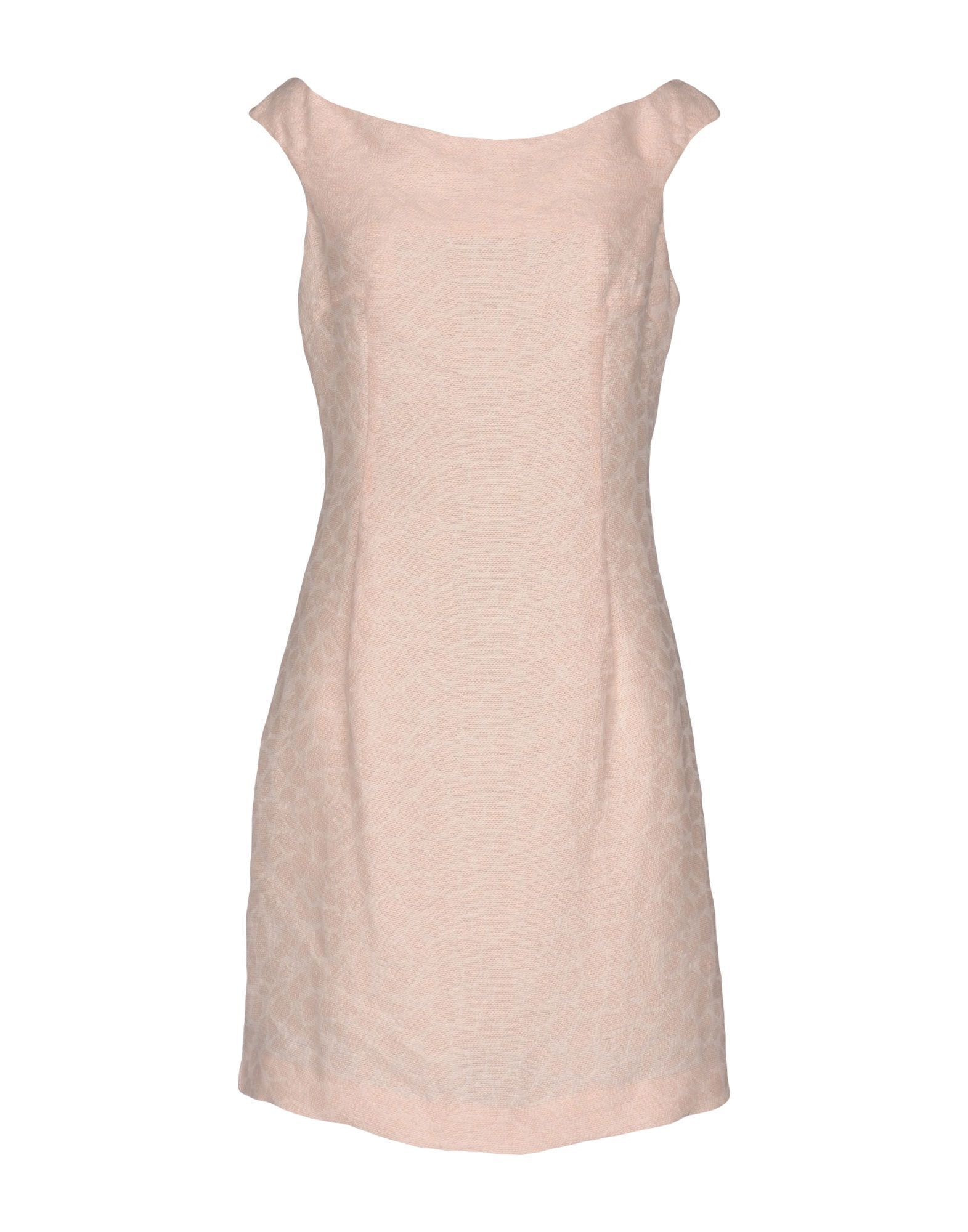 Byblos Light Pink Cotton Sleeveless Dress