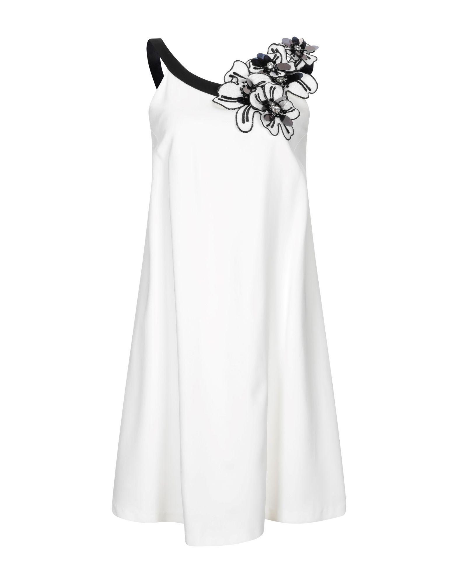 Maria Grazia Severi White Sleeveless Dress