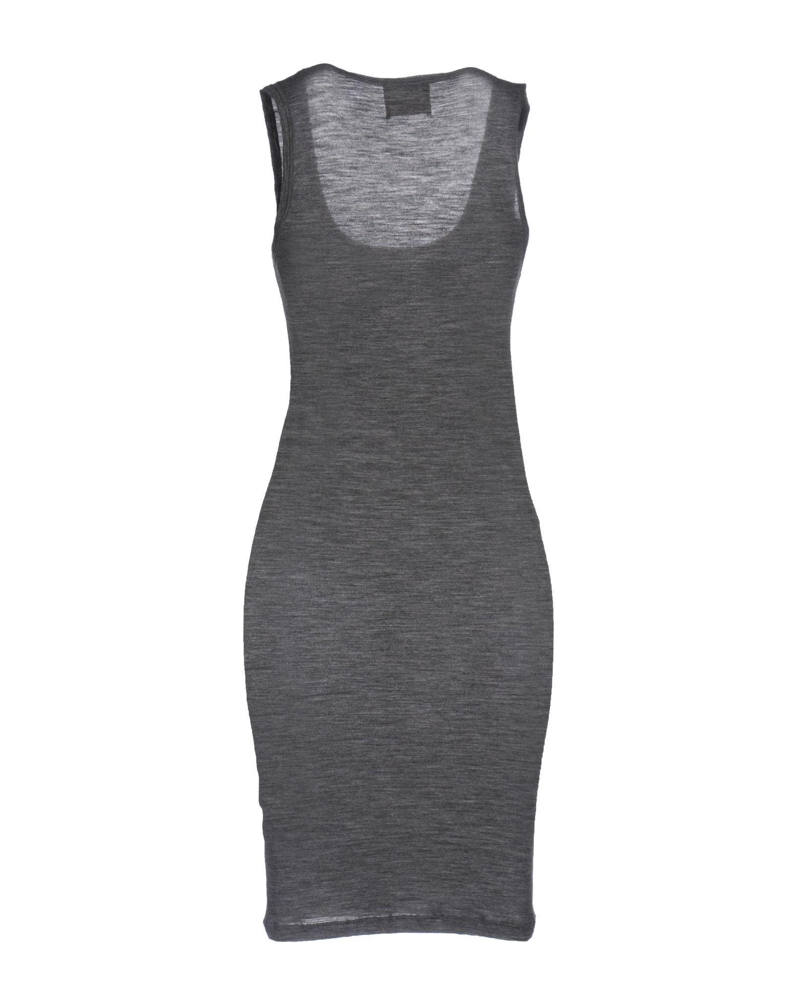 DRESSES Jucca Grey Woman Virgin Wool