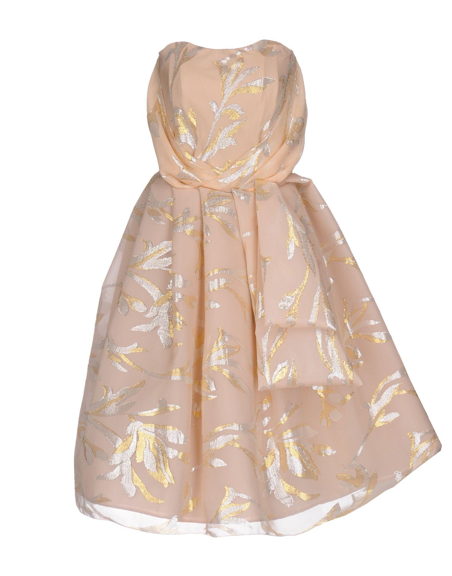 Dress Io Couture Sand Women's Silk