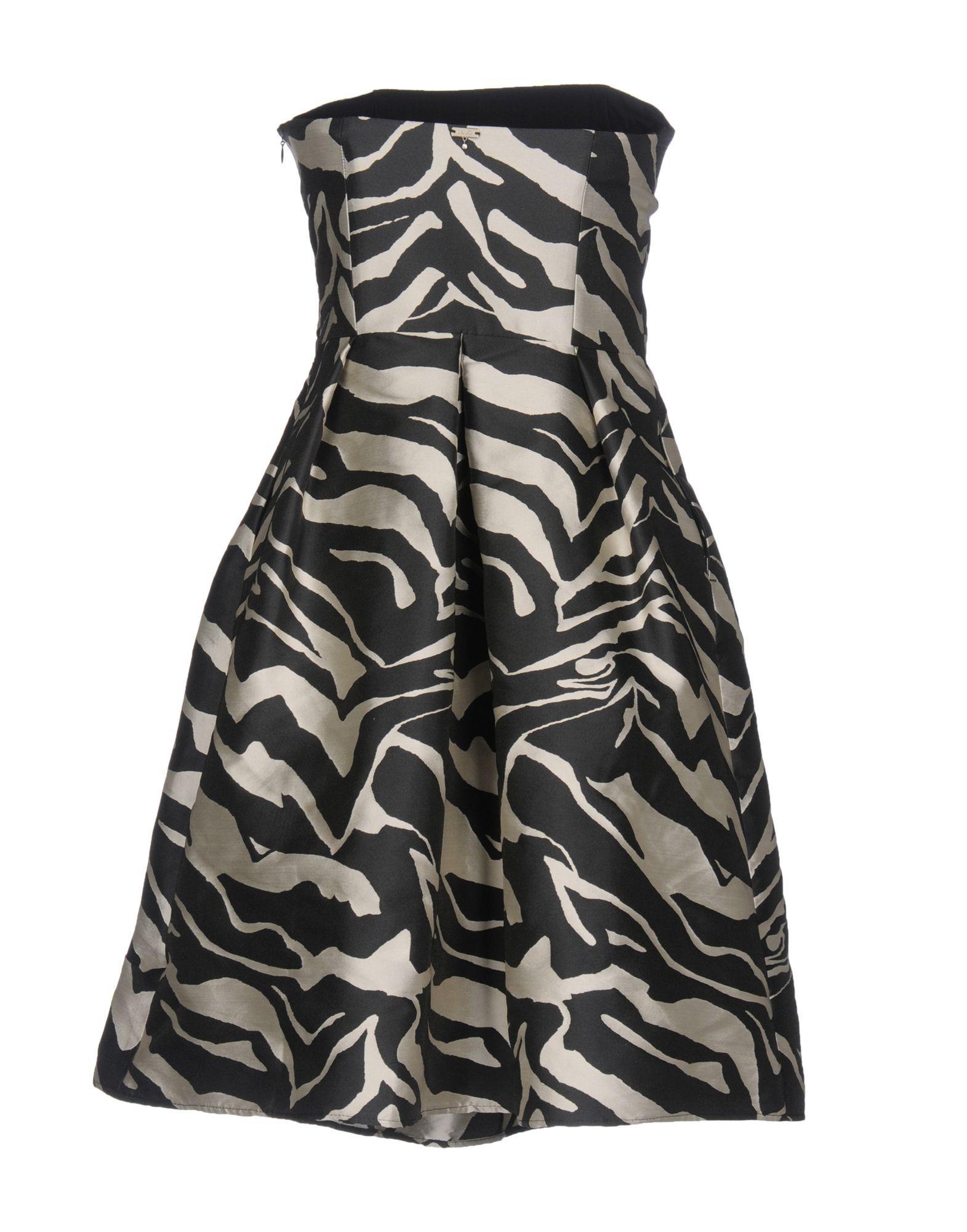 Liu Jo Black Print Dress