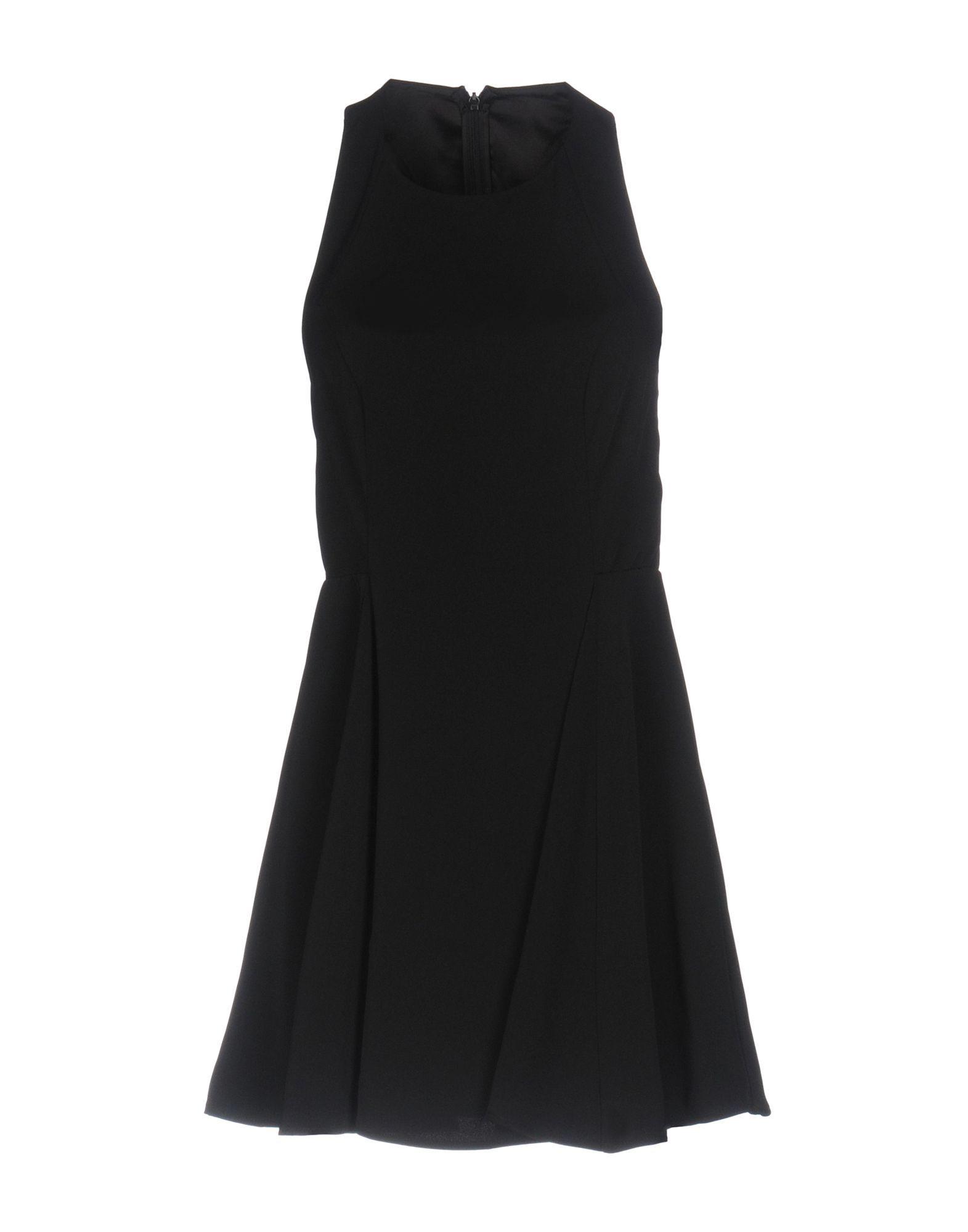 Finders Keepers Black Crepe Sleeveless Dress