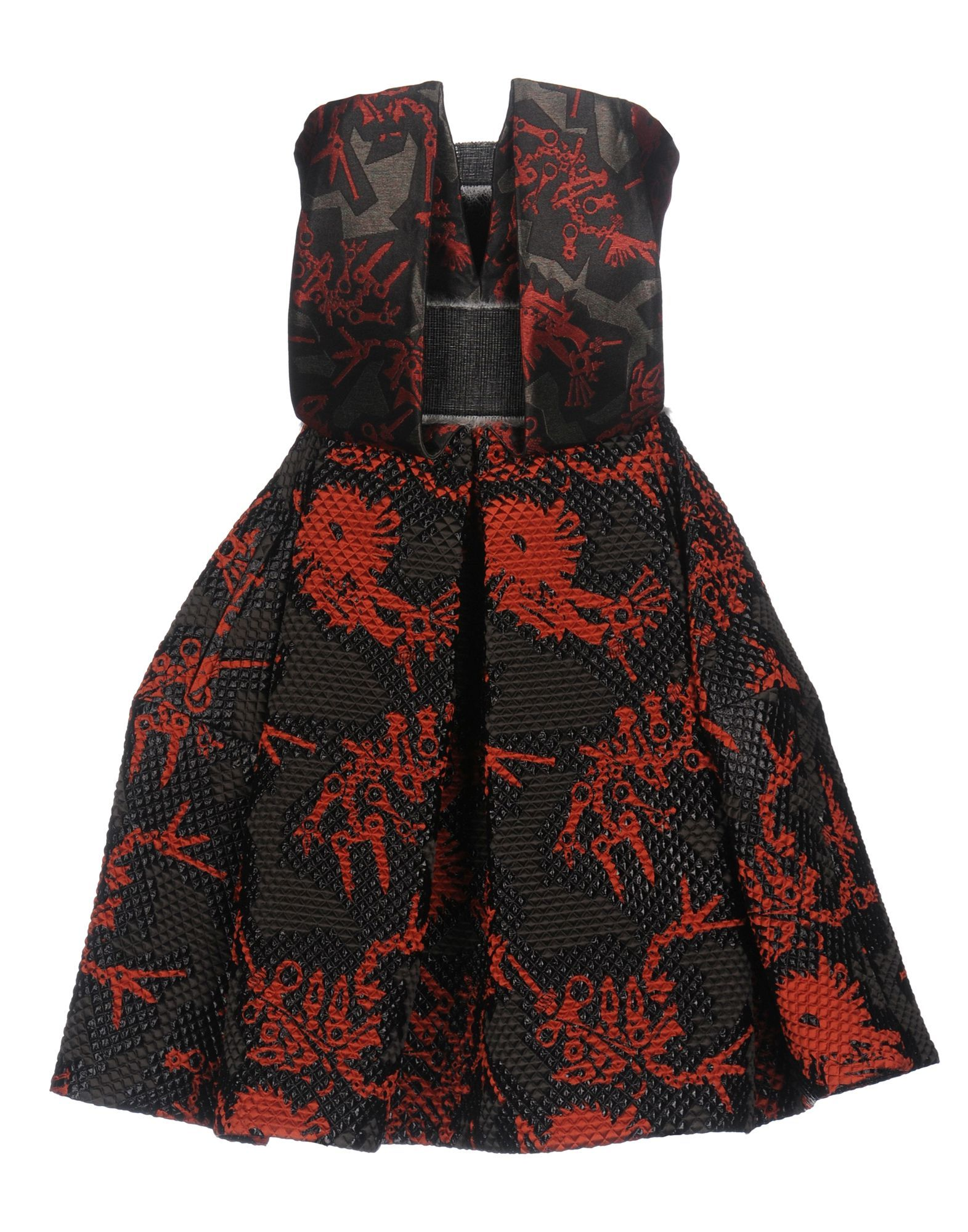 Kenzo Black Jacquard Dress