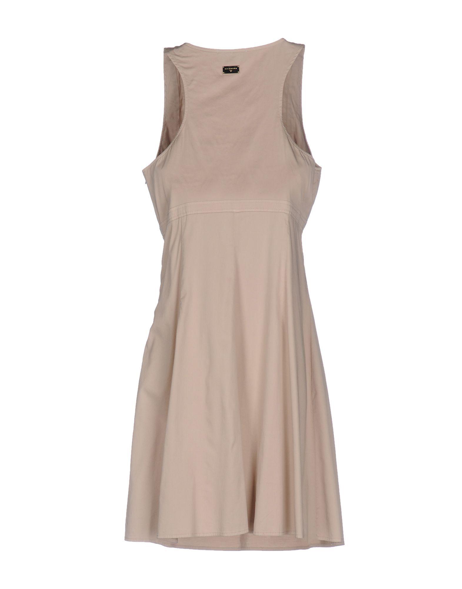 DRESSES Richmond X Beige Woman Cotton