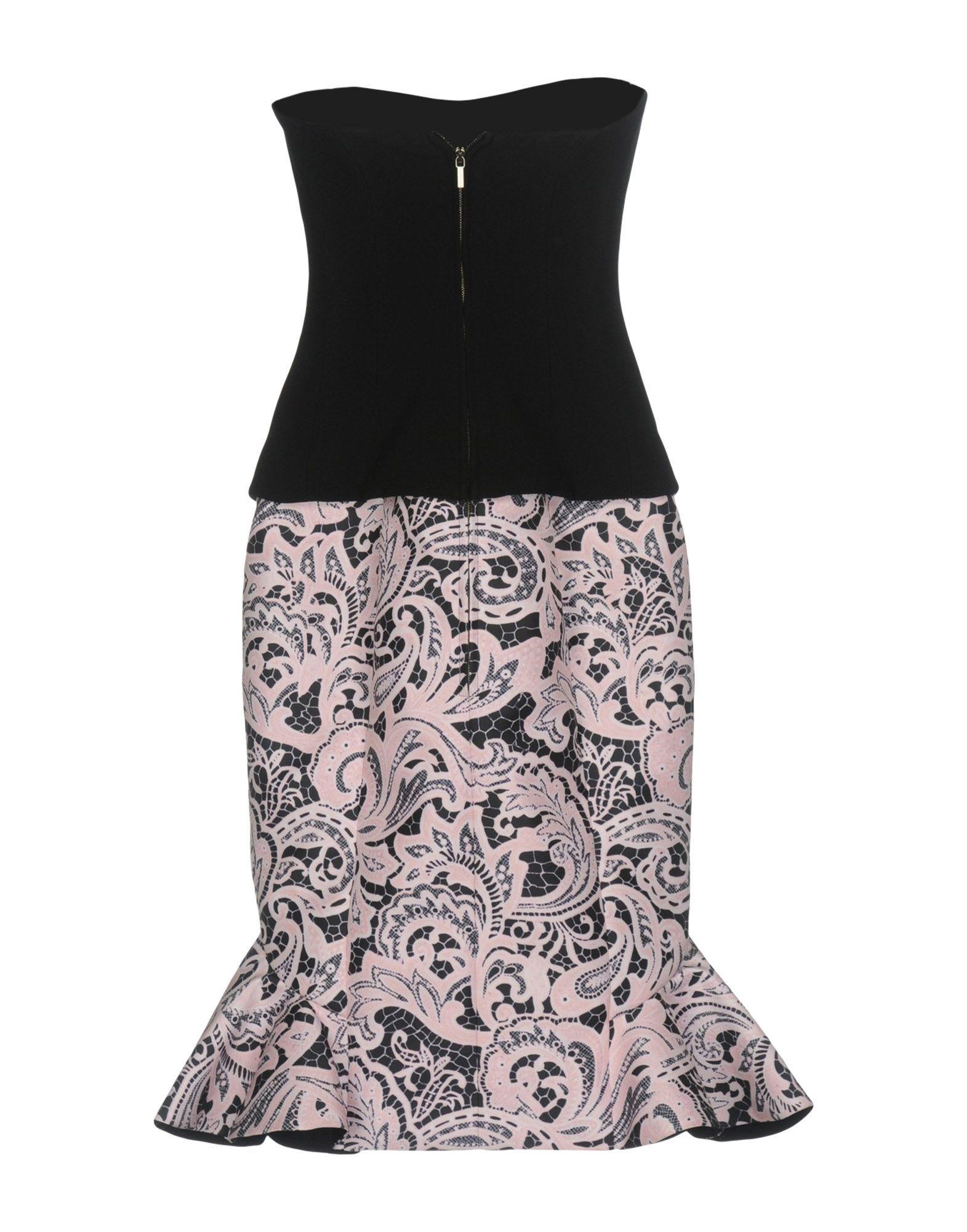 DRESSES Mary Katrantzou Black Woman Polyester