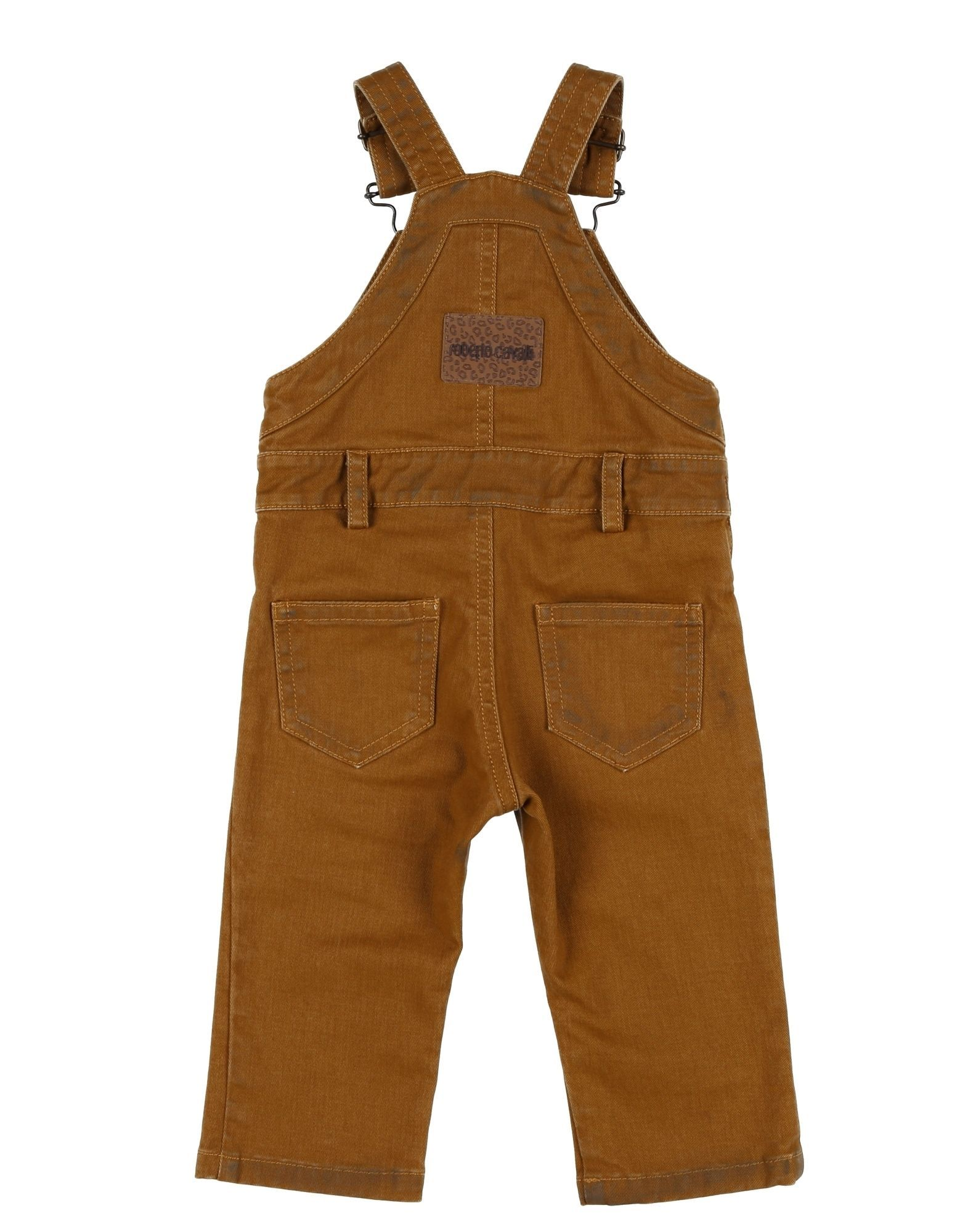 BODYSUITS & SETS Roberto Cavalli Junior Camel Boy Cotton