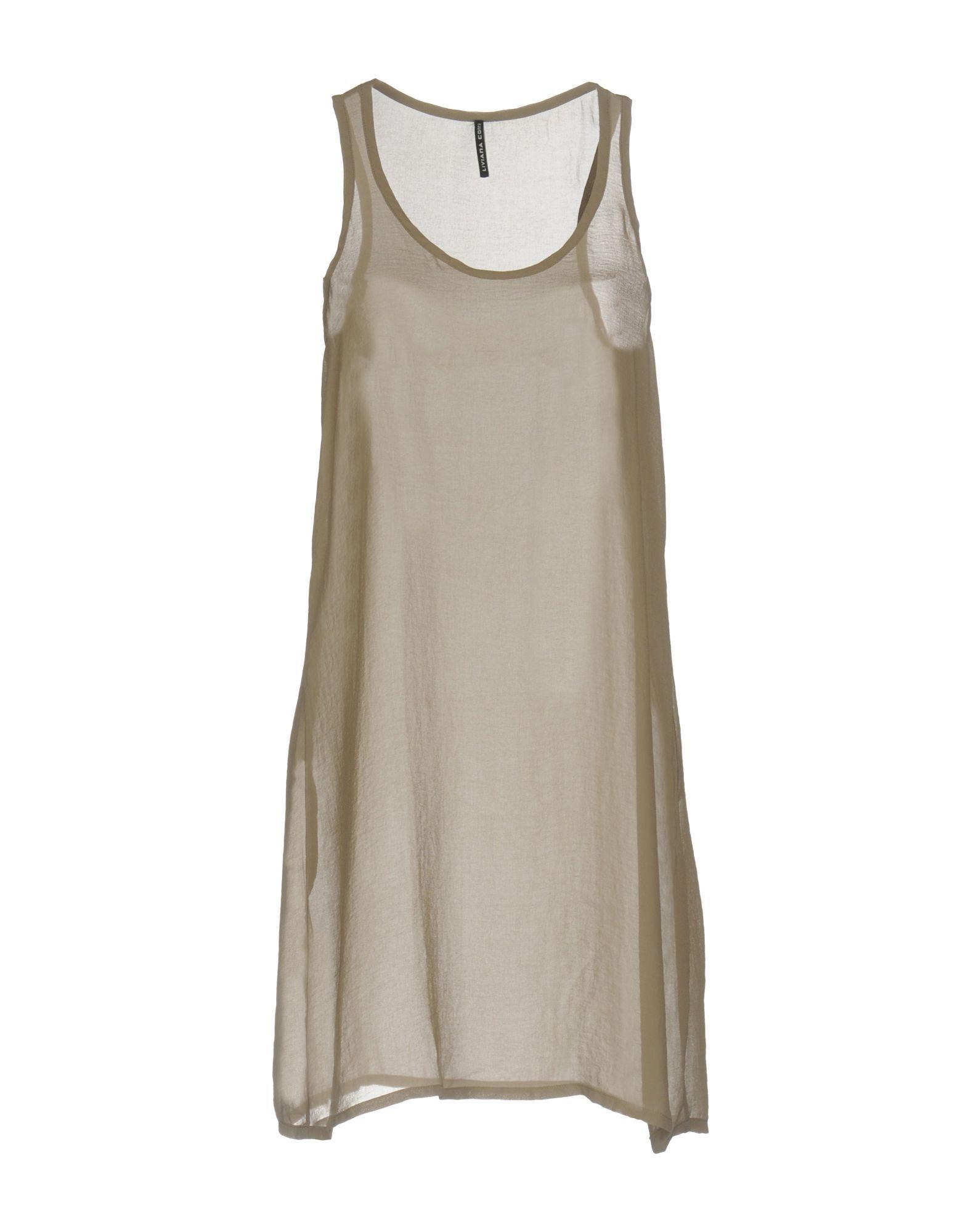DRESSES Liviana Conti Grey Woman Polyester