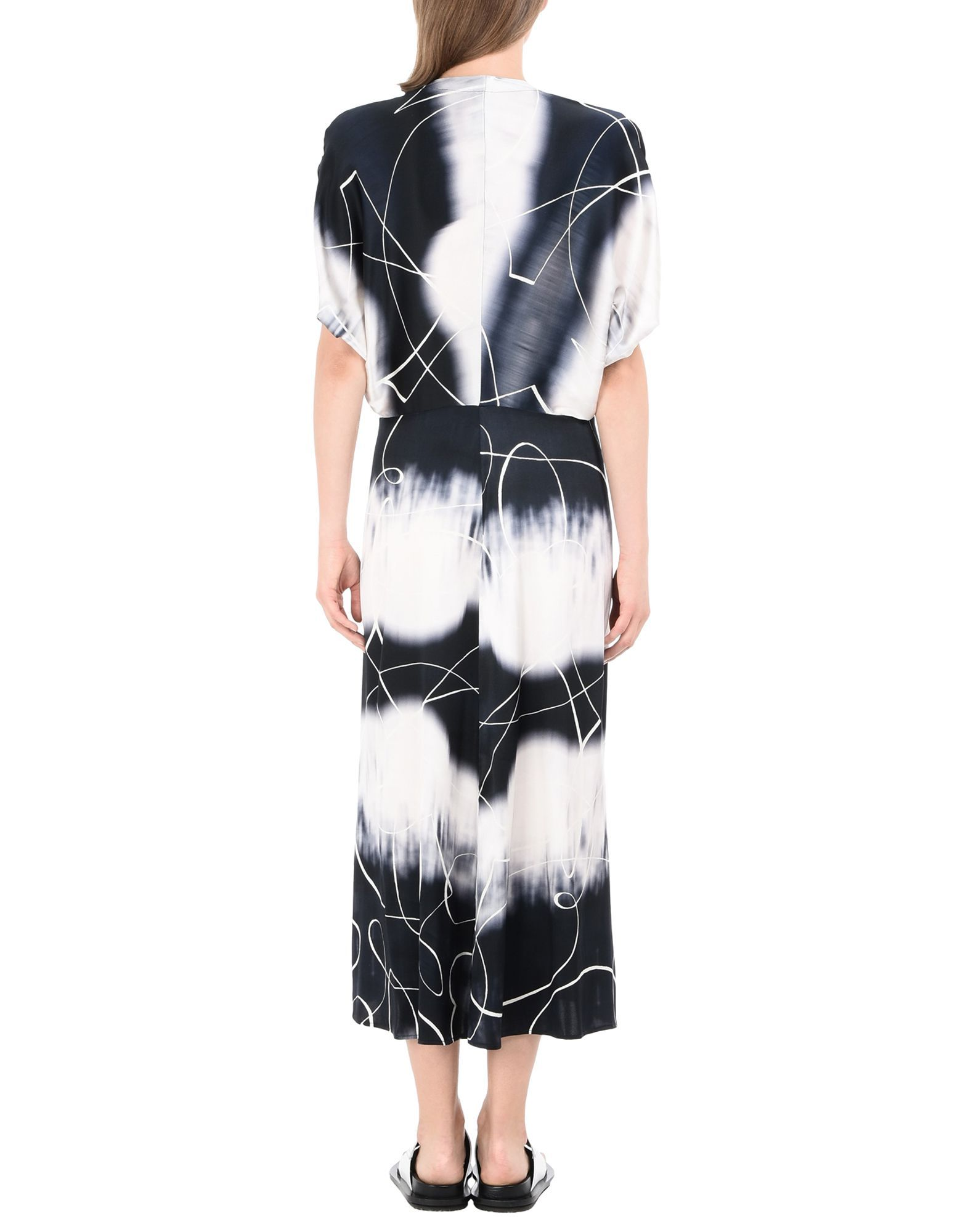 DRESSES Zero + Maria Cornejo Ivory Woman Silk