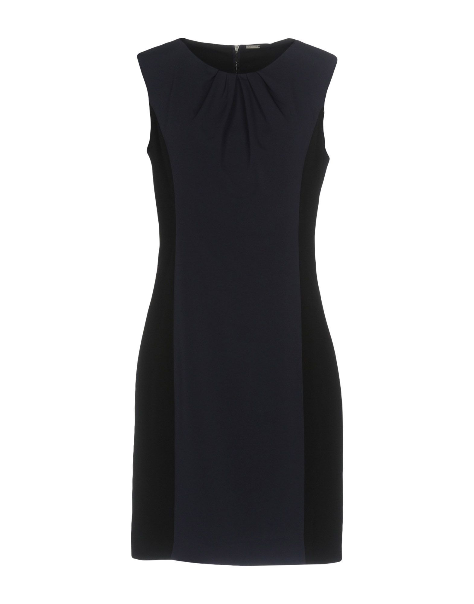 DRESSES Elie Tahari Dark blue Woman Triacetate