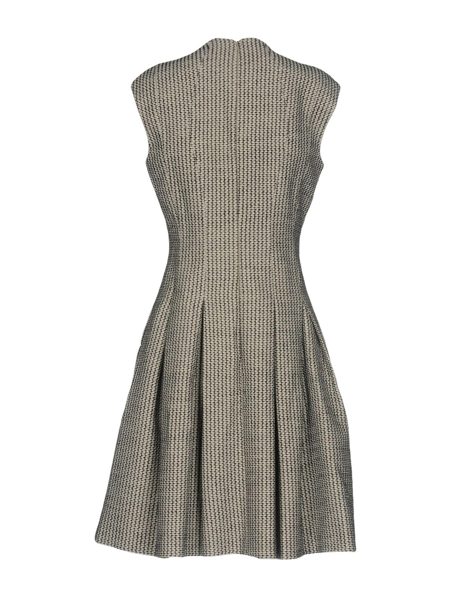 Karen Millen Sand Pattern Sleeveless Dress
