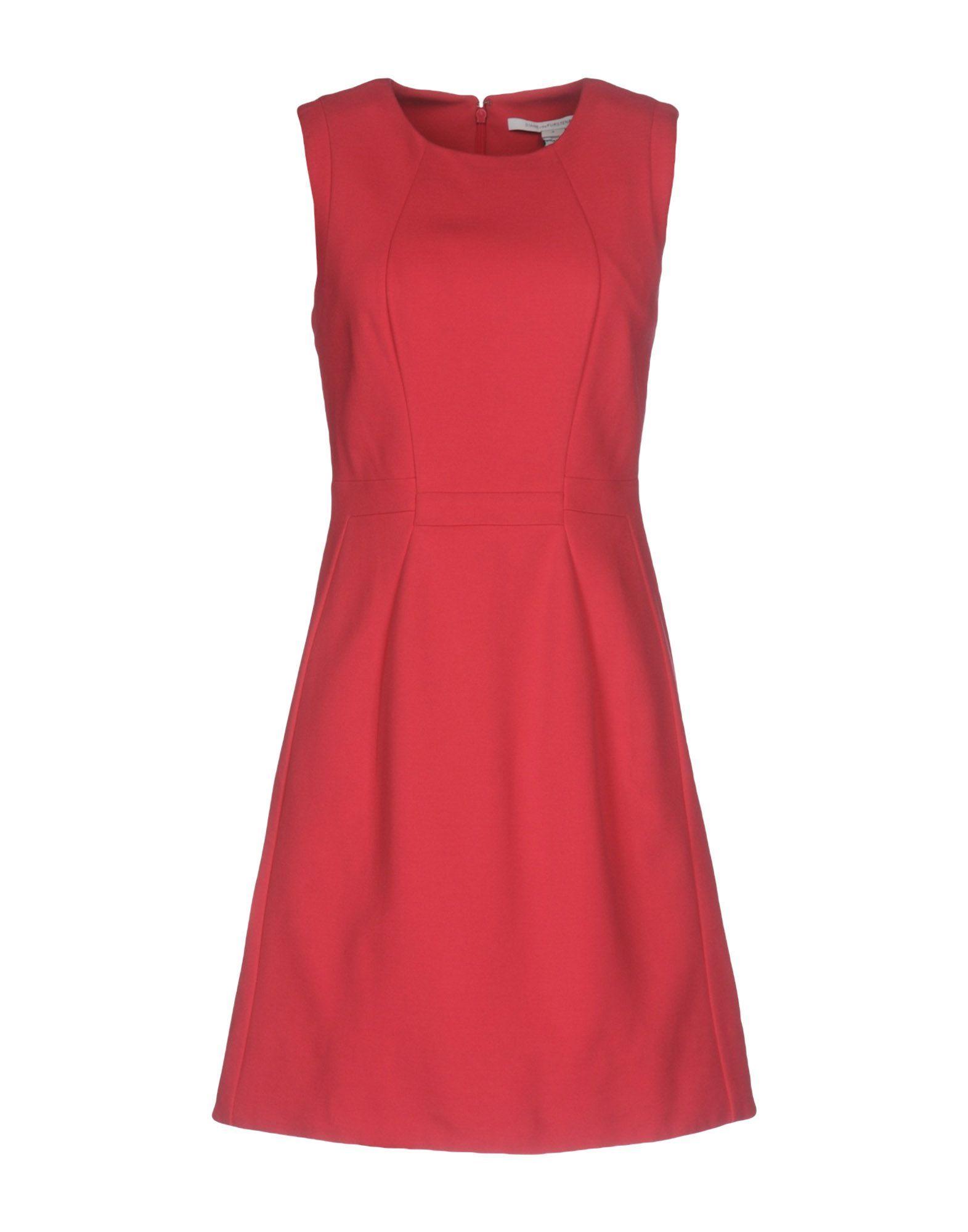Diane Von Furstenberg Fuchsia Sleeveless Dress