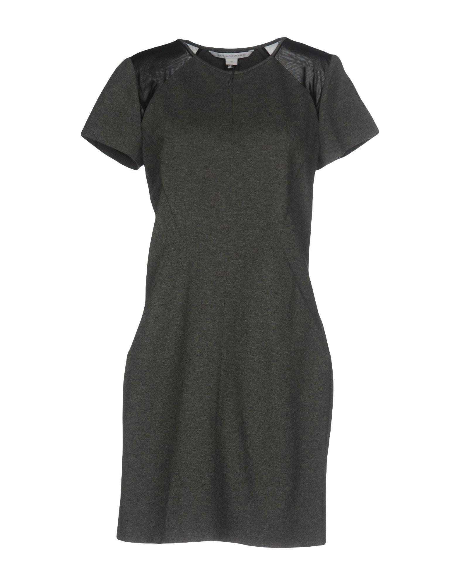 DRESSES Diane Von Furstenberg Grey Woman Viscose