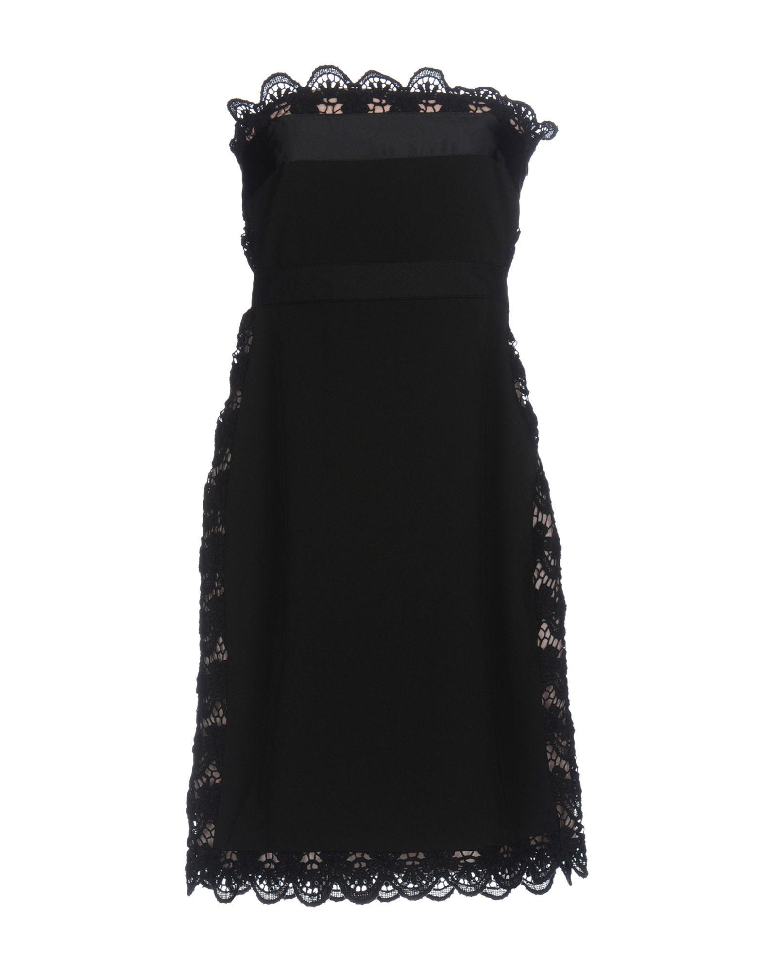 Philosophy Di Alberta Ferretti Black Lace Dress
