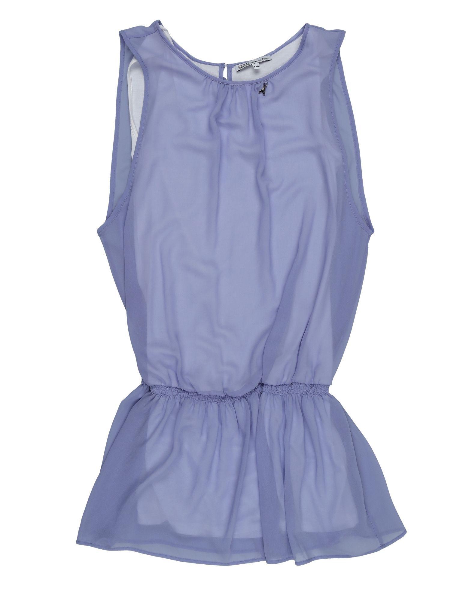 DRESSES Patrizia Pepe Lilac Girl Polyester