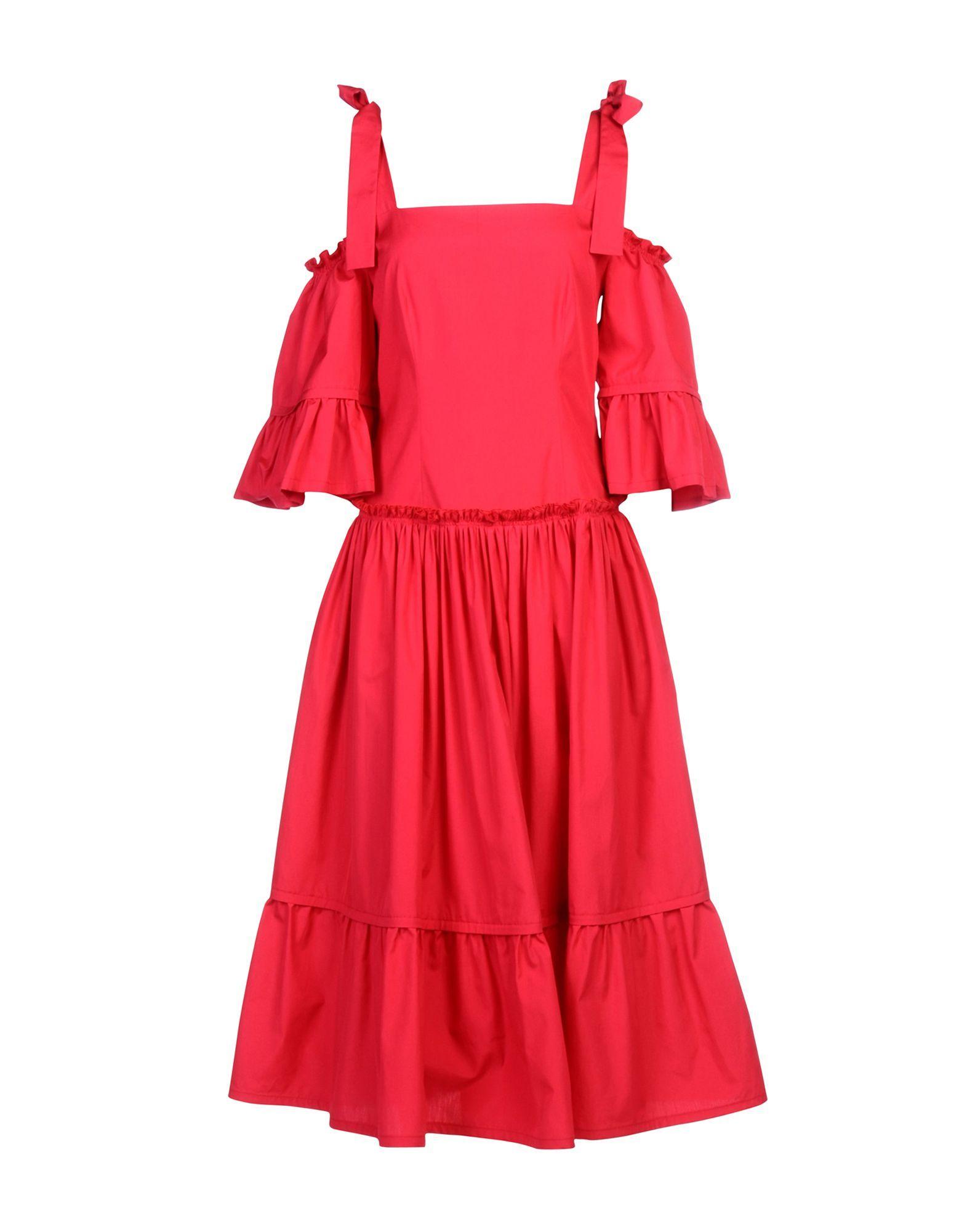 Alberta Ferretti Fuchsia Cotton Dress