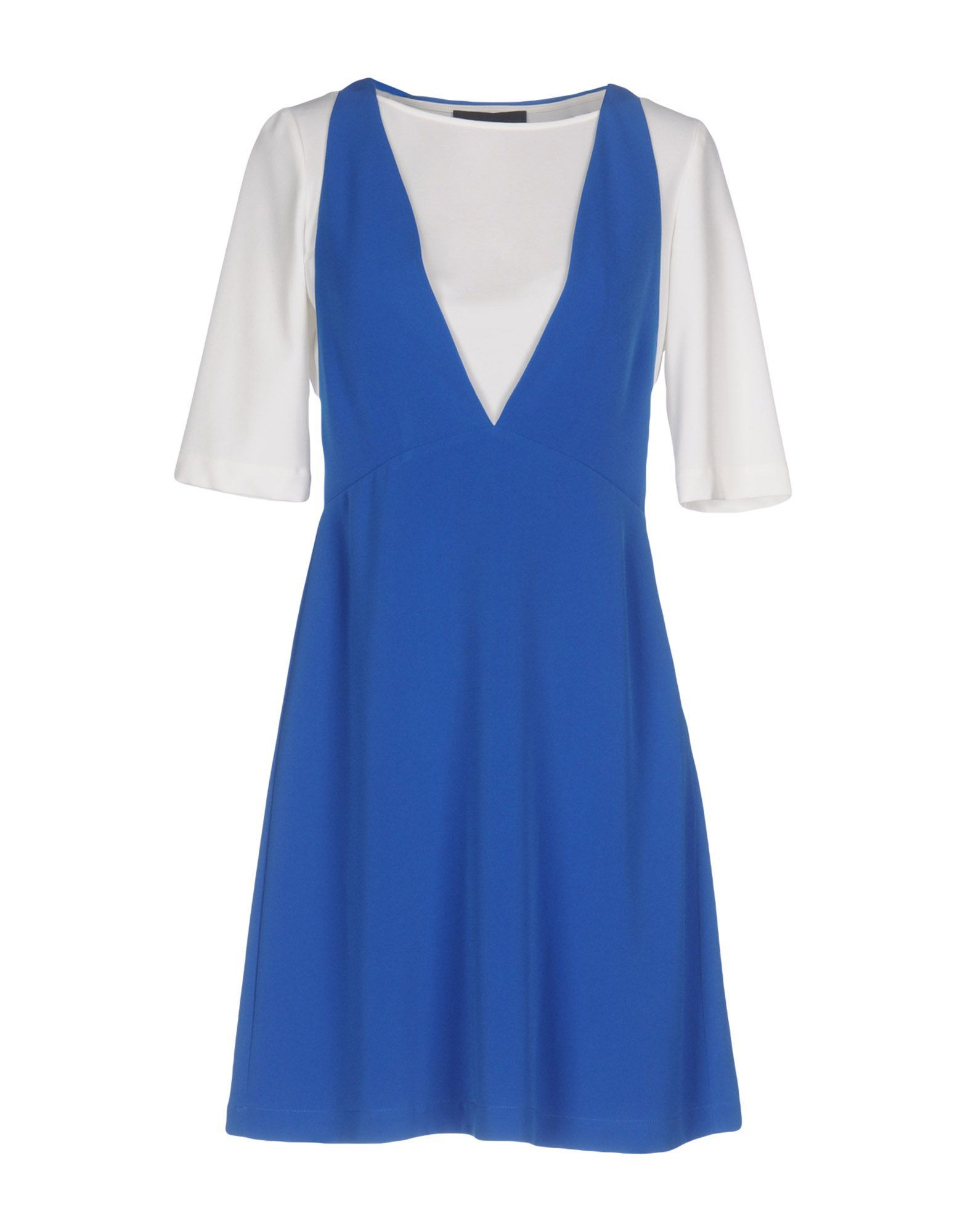 DRESSES Boutique Moschino Bright blue Woman Polyester