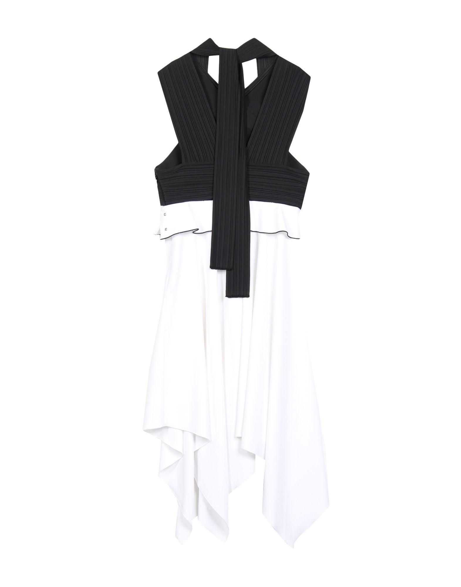 Proenza Schouler Crepe Monochrome Dress