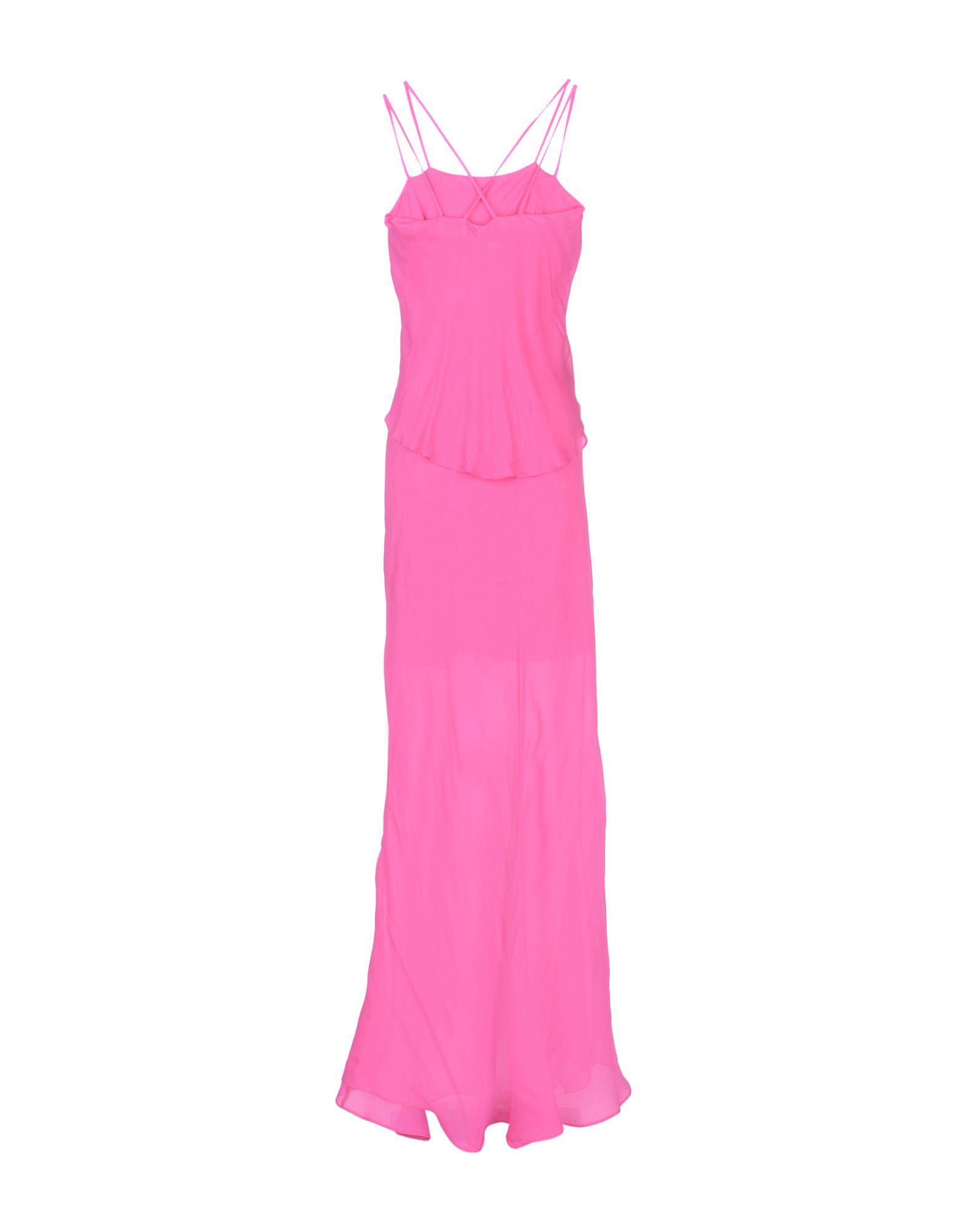 Pinko Fuchsia Full Length Dress