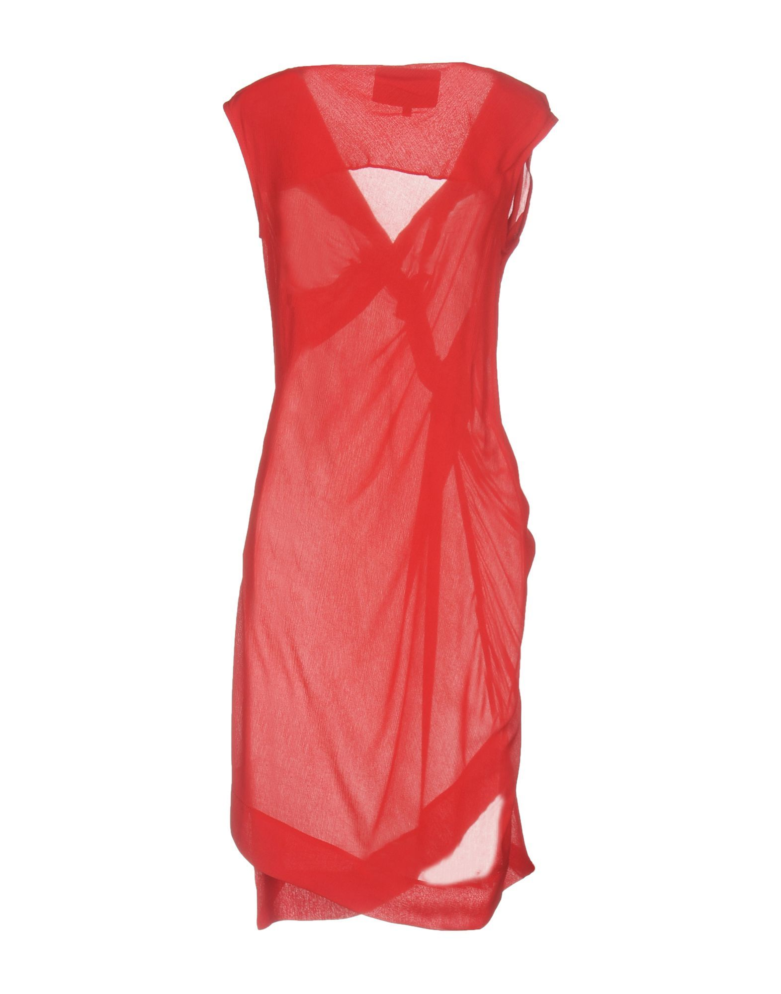 Vivienne Westwood Anglomania Red Crepe Dress