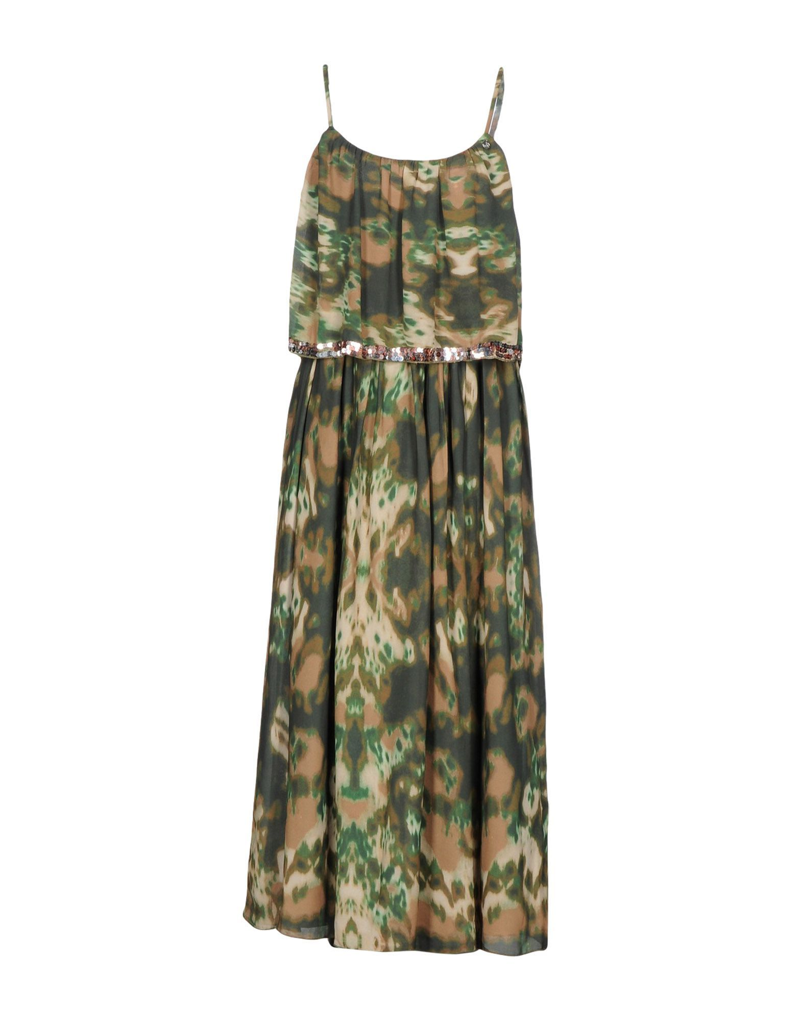 Dress Relish Military Green Women's Polyester