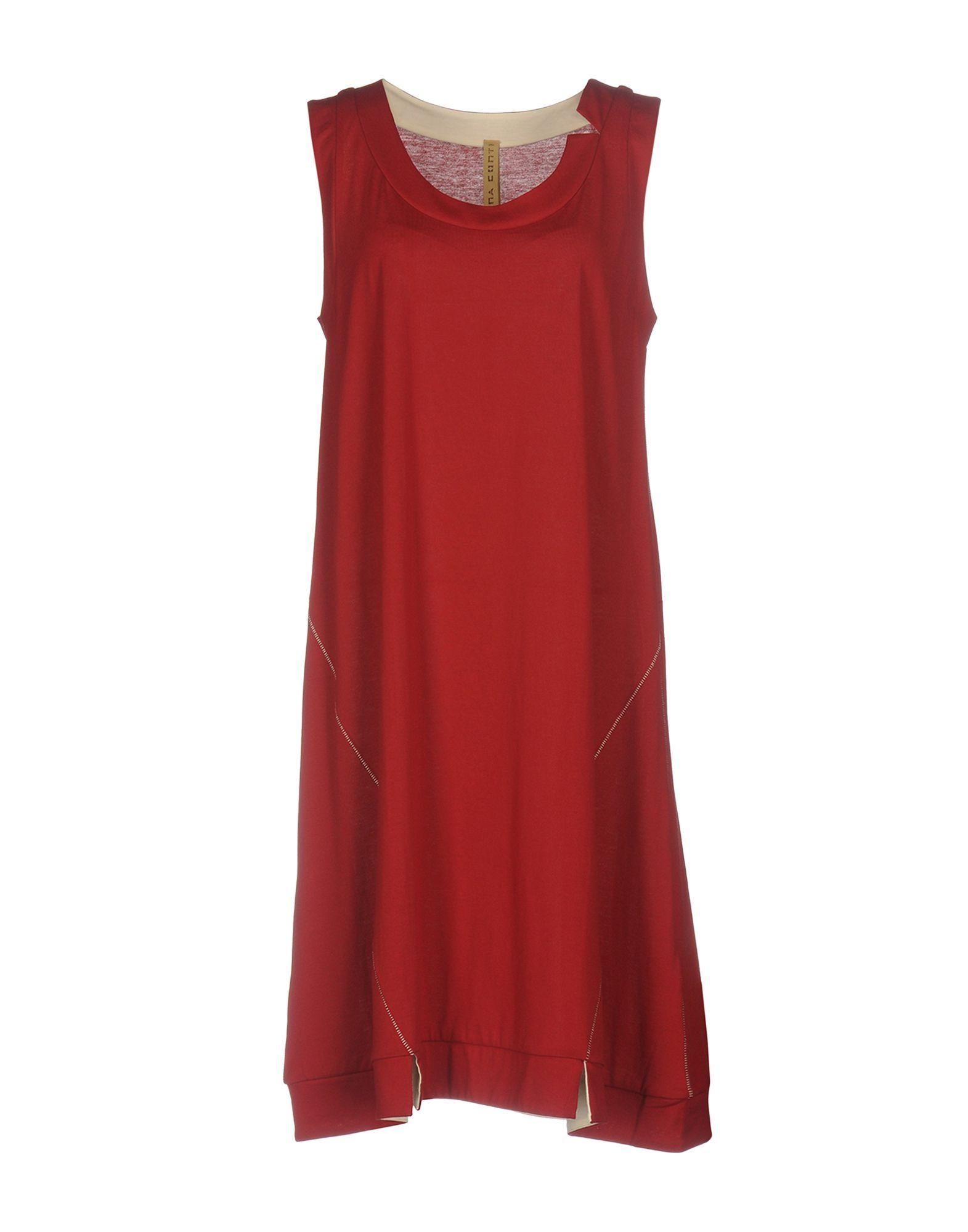 DRESSES Liviana Conti Brick red Woman Cotton